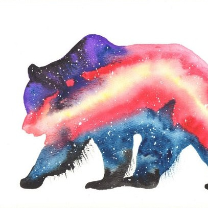 COSMIC ANIMAL PAINTINGS