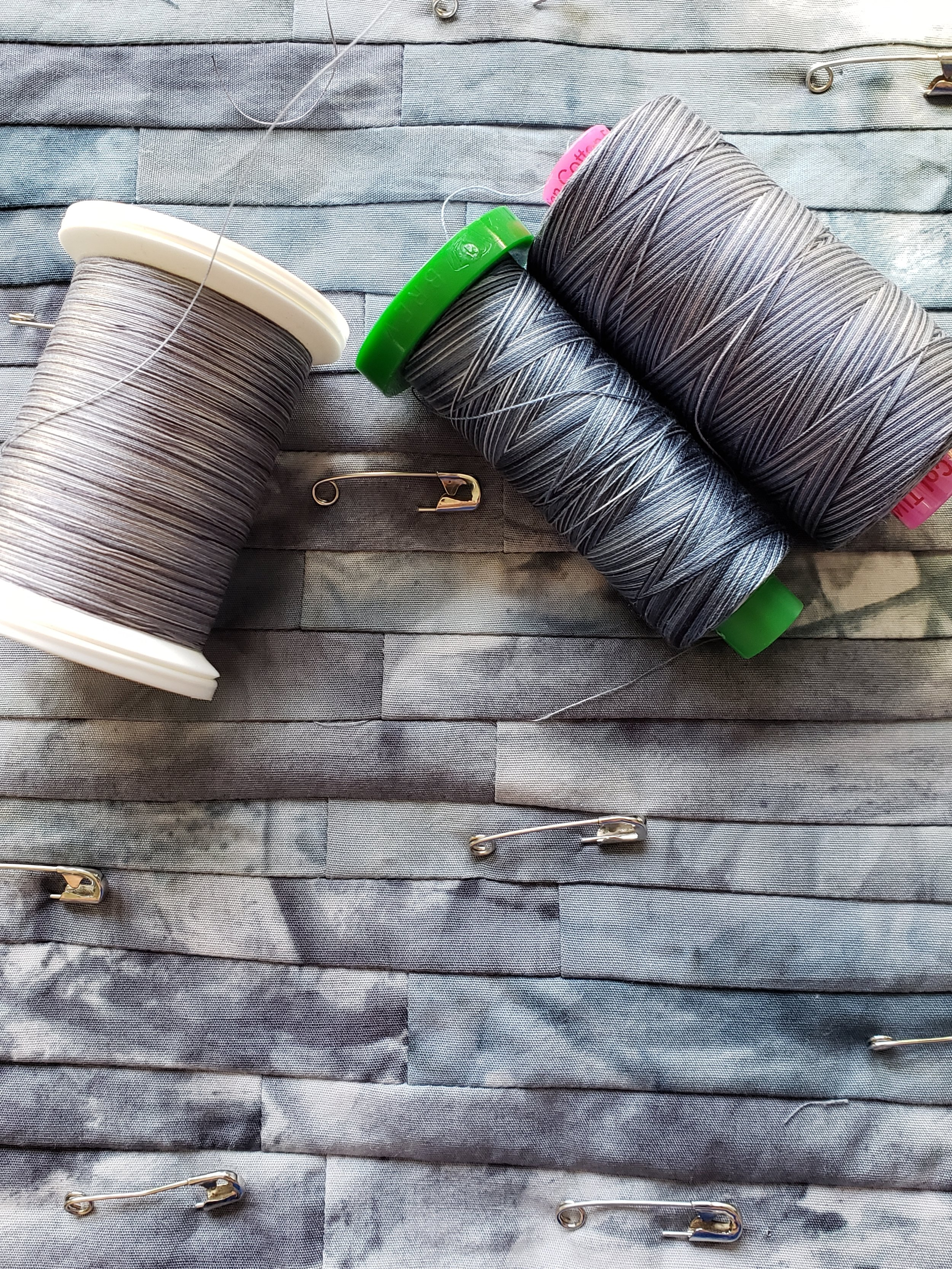 Choosing thread for the colour wash layer of texture