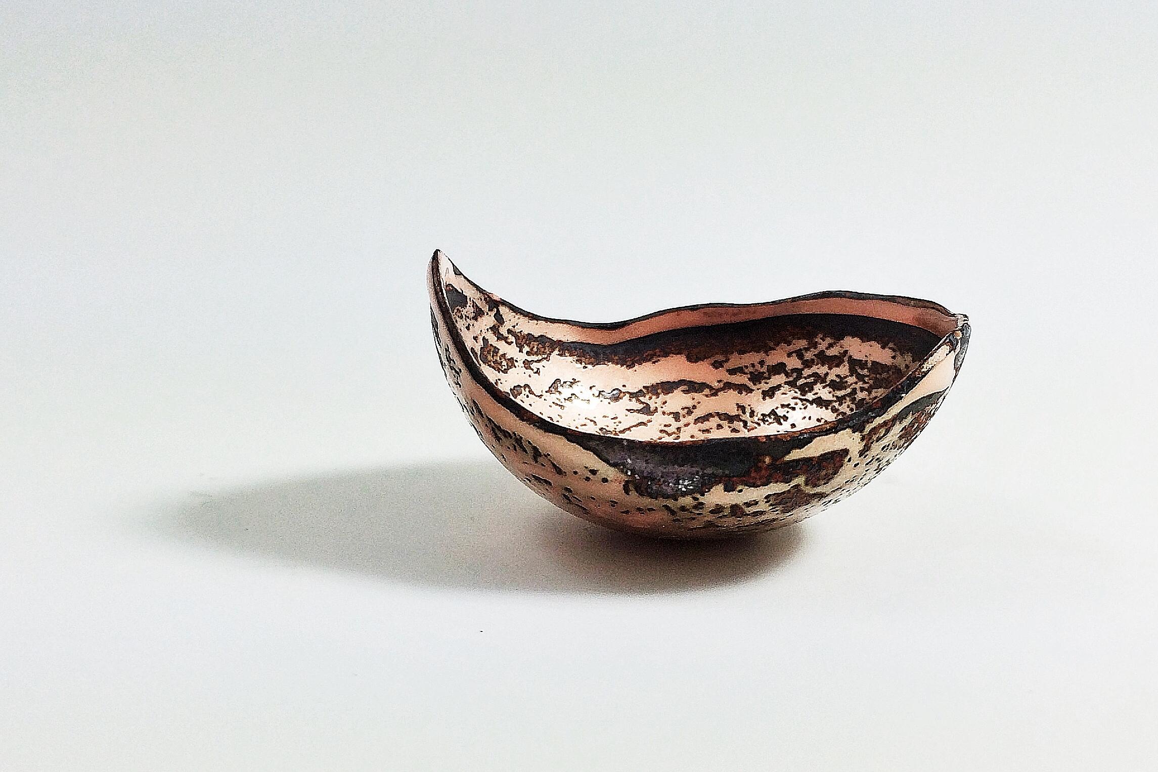 Receiving bowl #17 by Ginger Meek Allen
