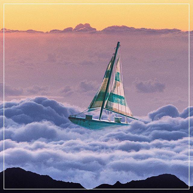marooned at dusk 🌫 #ghostcoast . . . . . . #aesthetic #vaporwave #retrowave #laartist #editor #nostalgia #sweetner  #femaleartist #digitalcollage #collage #graphicart #newwave #surrealism #render #fantasy #unsplash #madewithunsplash  #adobe #dream #videogames #retro #surreal #womeninfilm #vaporwaveaesthetic #surrealistart #dreamscape #womeninart #sunset #sailing