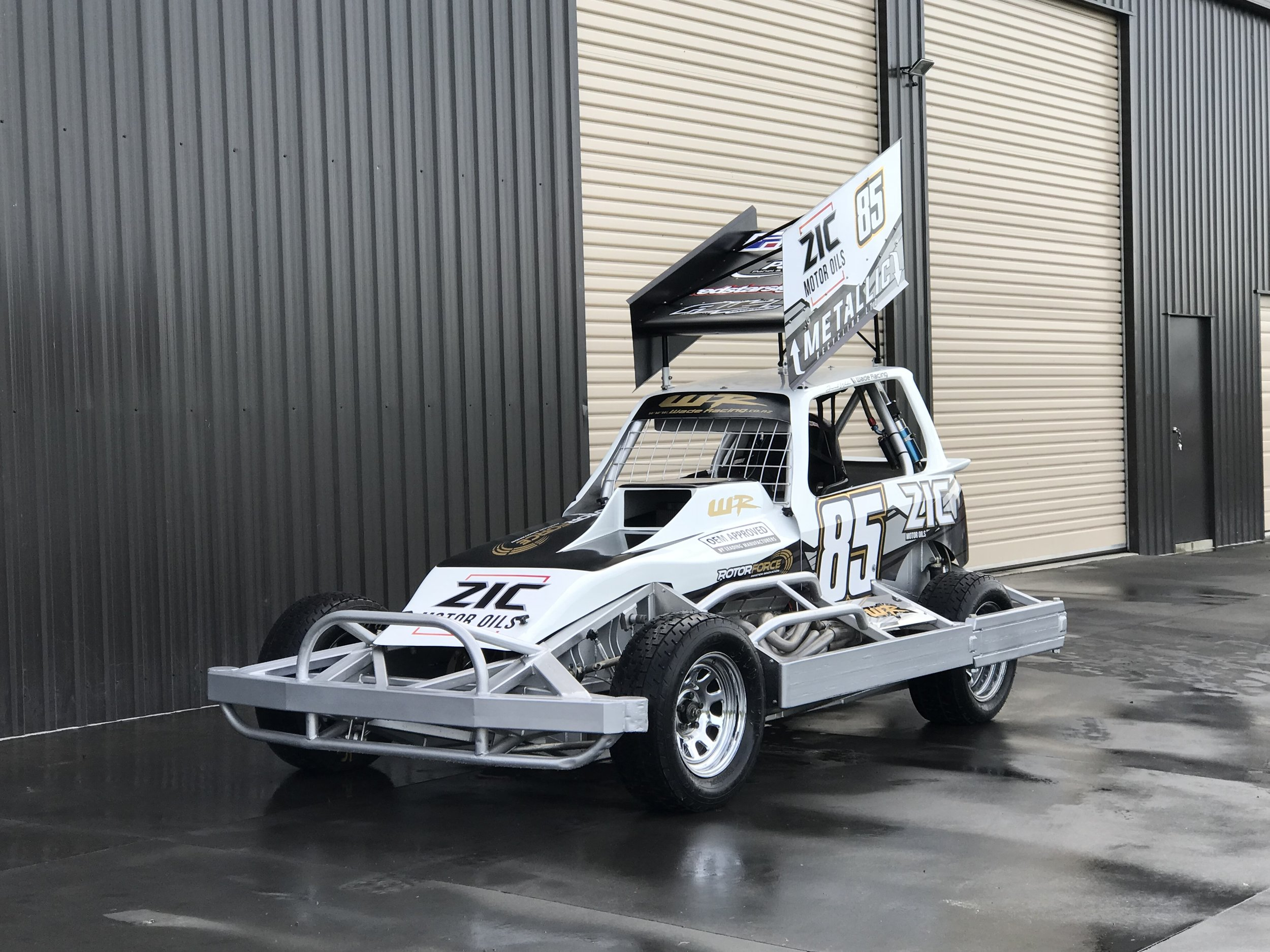Wade Racing ZIC MOTOR OILS NZ Body
