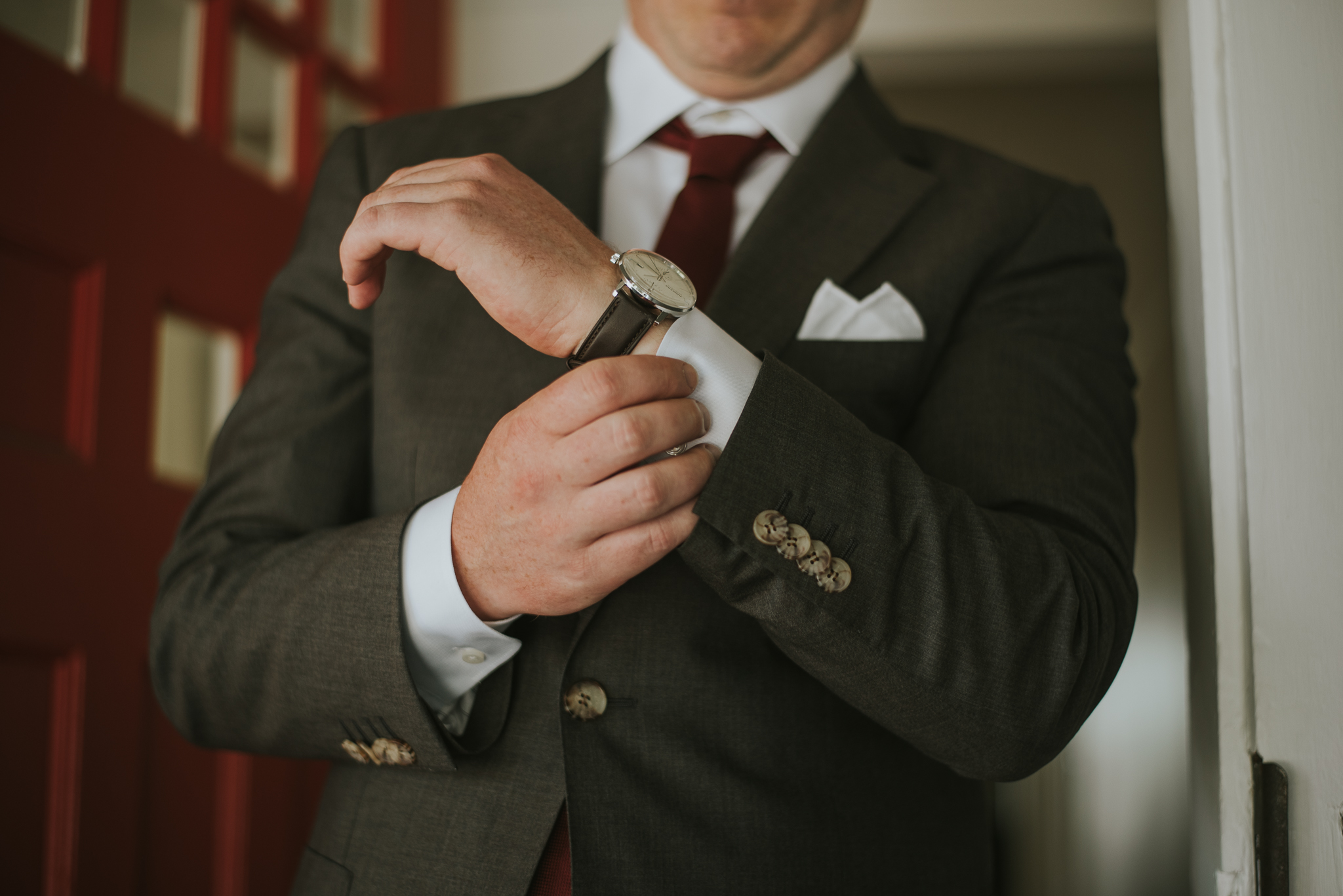 Groom details by Dia Photography