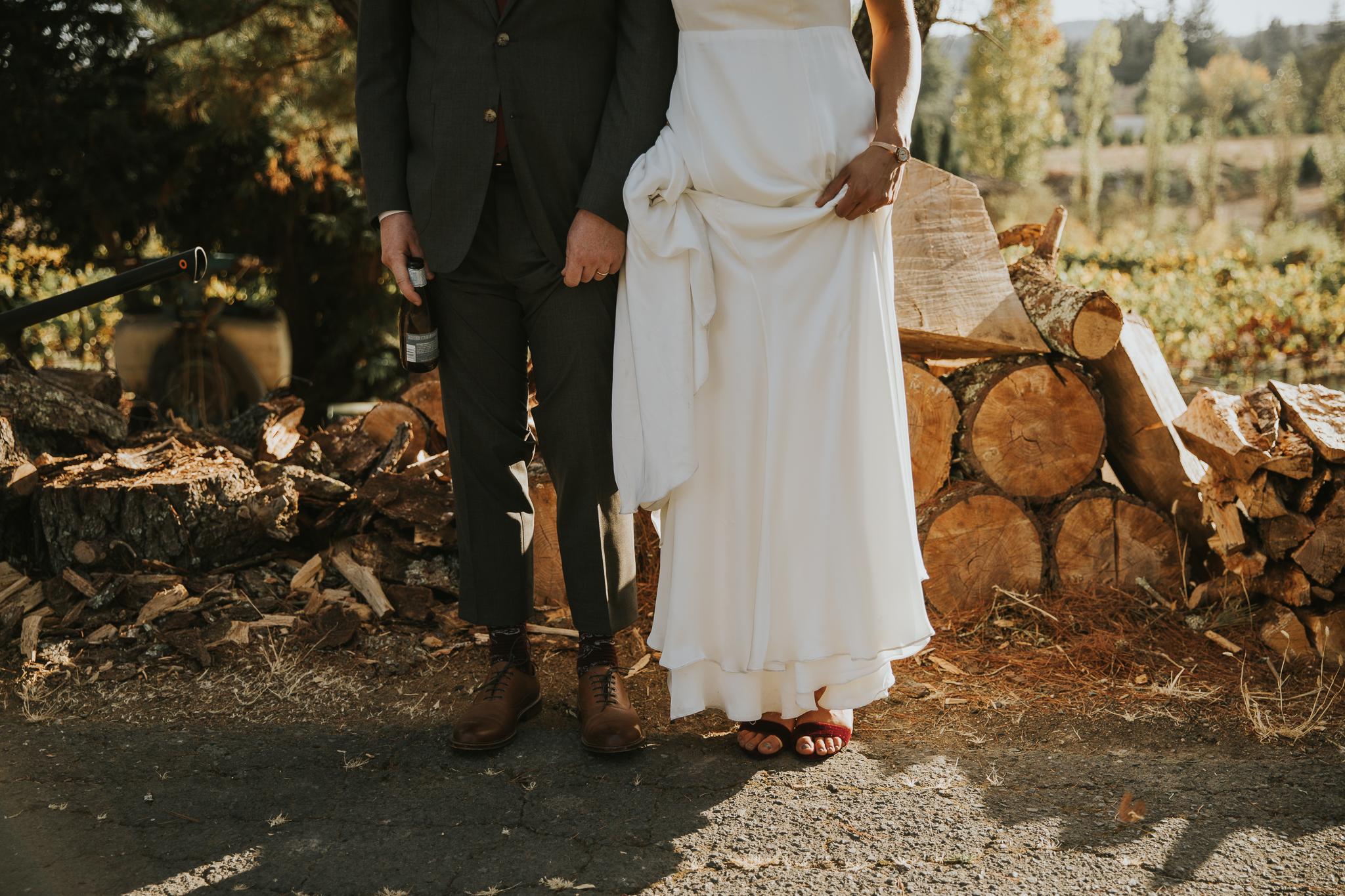 Hipster bride & Groom by Dia Photography
