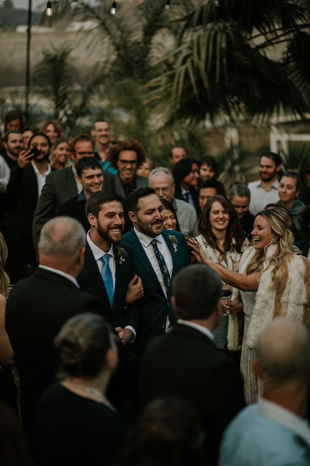 Same Sex Nautical Wedding by the Bay