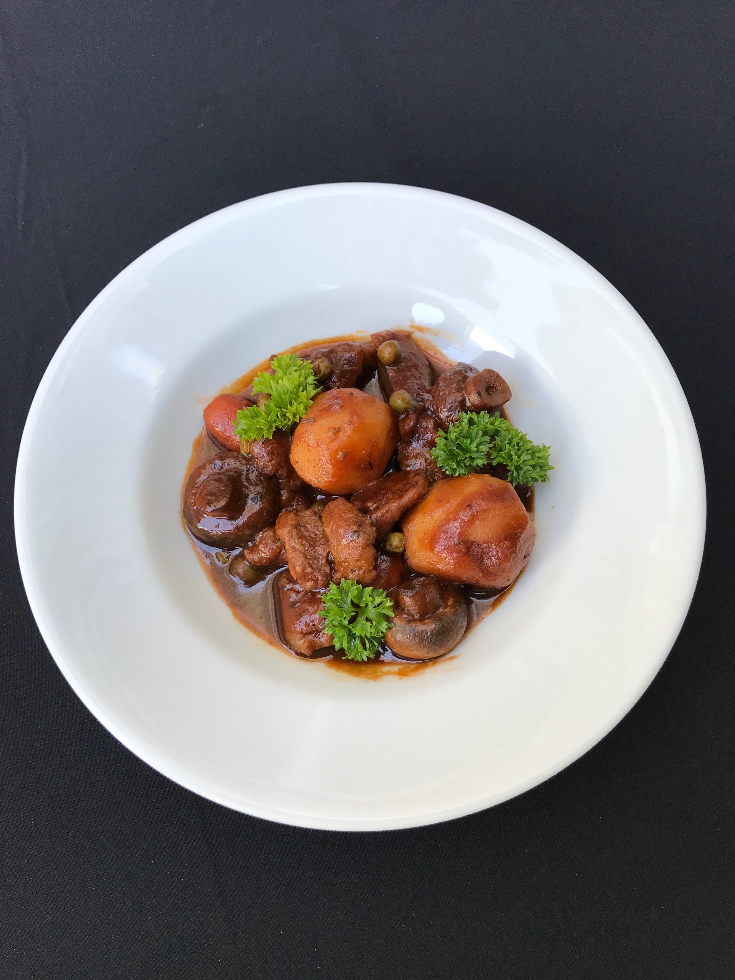 - Guinness Lamb StewTraditional Irish stew with lamb, carrots, rosemary, potatoes, onions, and Guinness