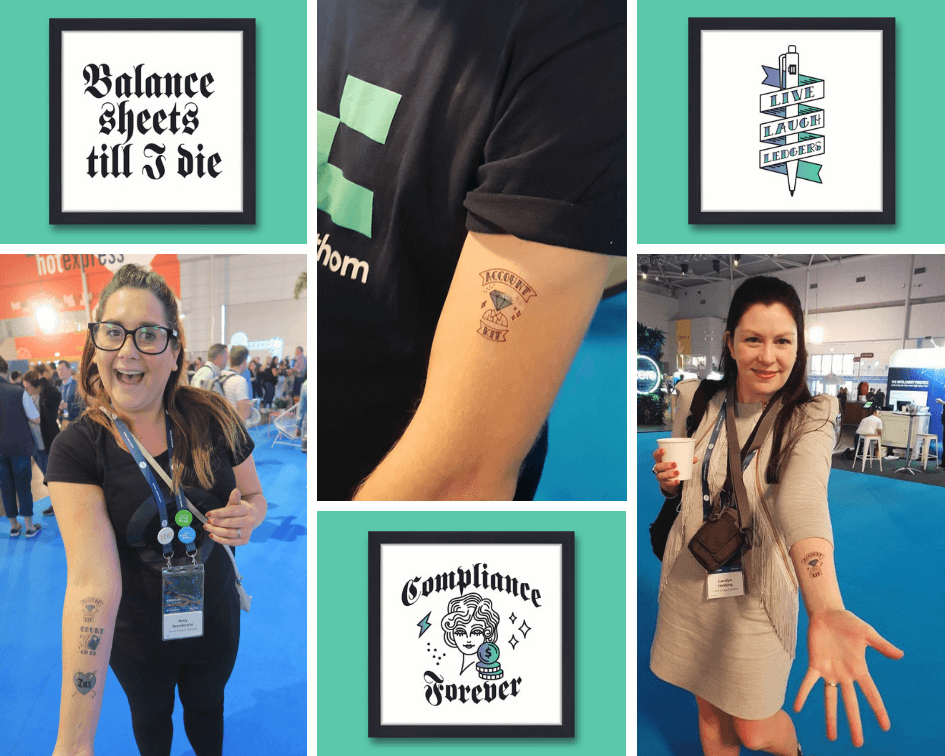 AccountKit Xerocon 2018 - #accountatts in action!