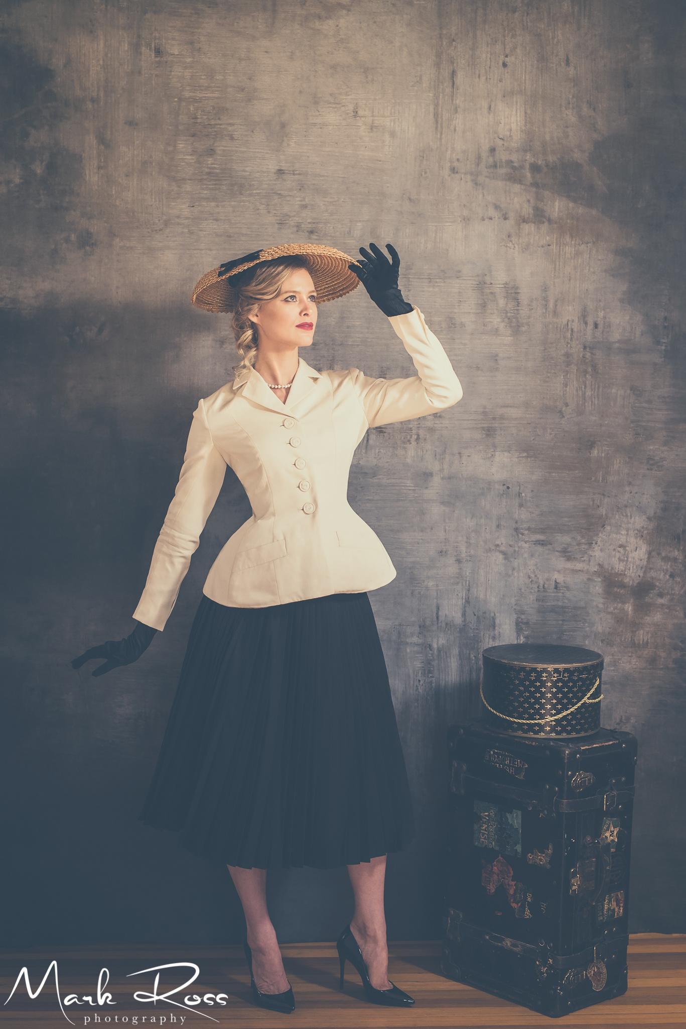 Maggie in a pre-Paris test shoot!