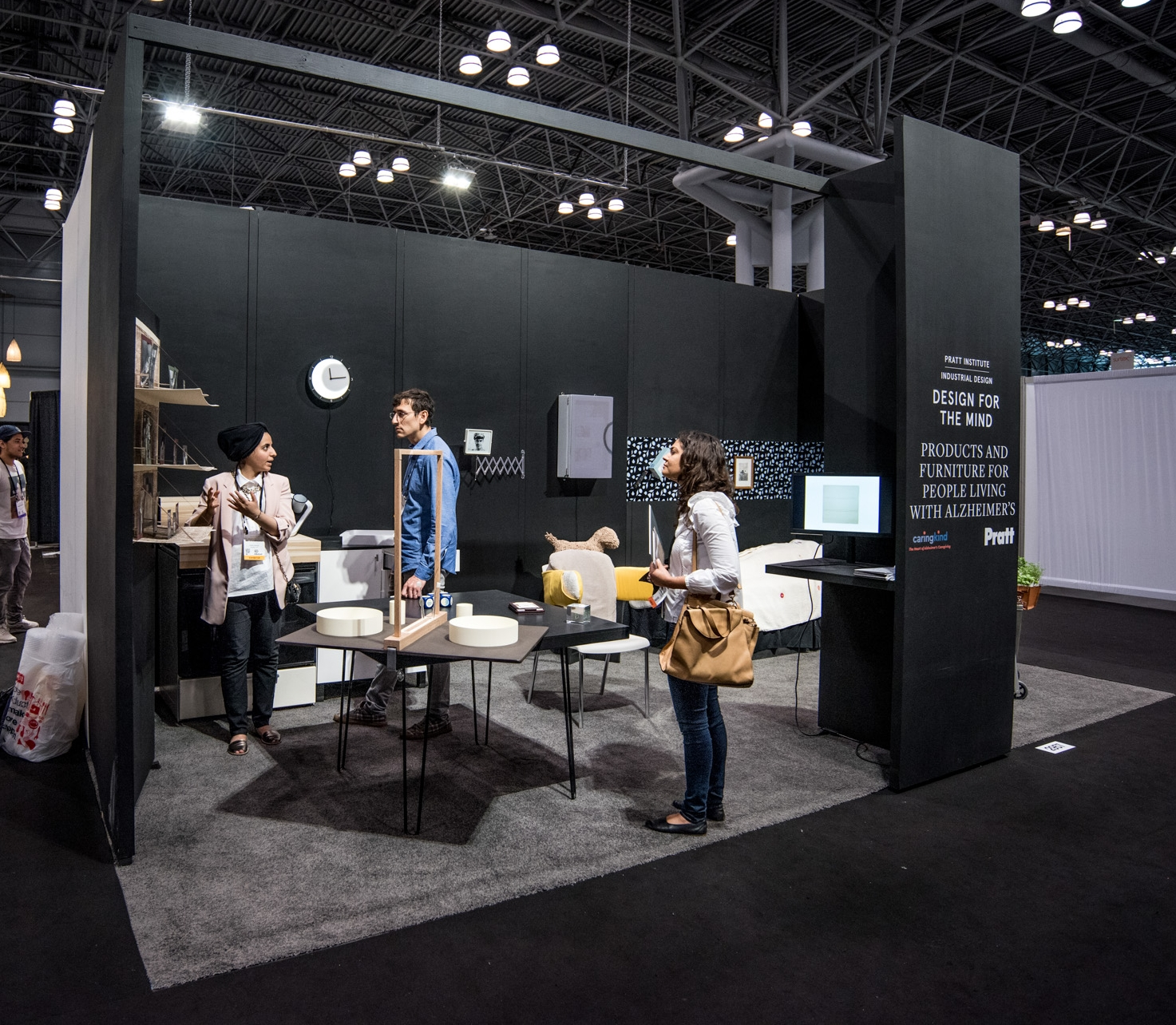 The Door Camouflage on display at ICFF in New York, 2017