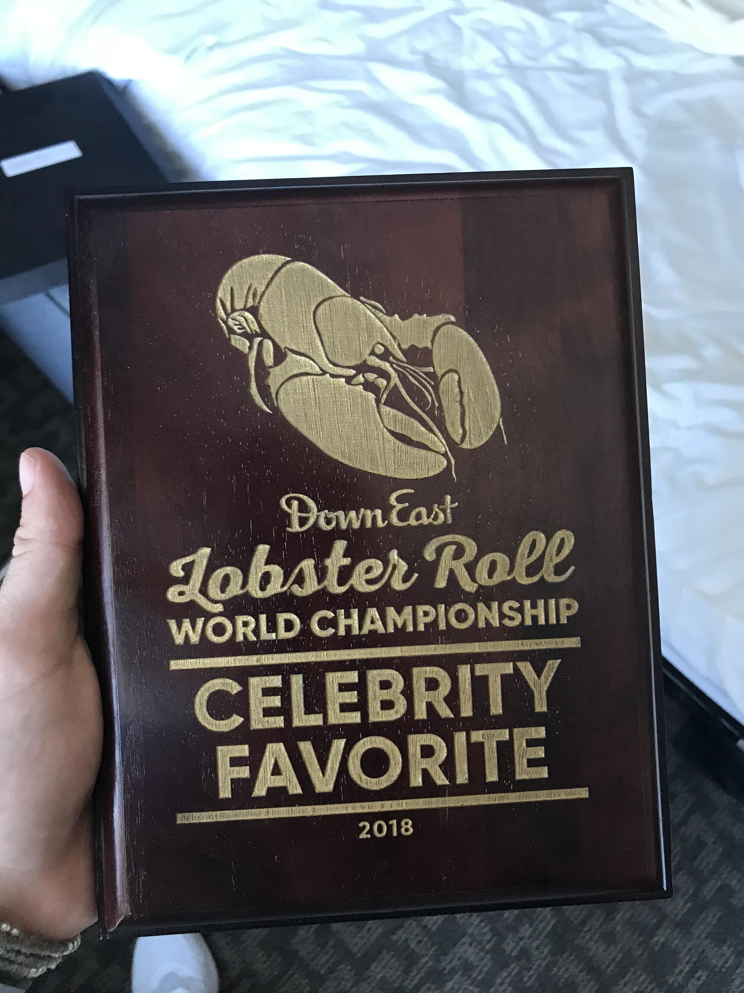 homer lobster élu meilleur lobster roll du monde -