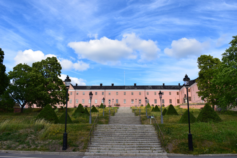 Uppsala Castle, a very standard photo, fortunately this time without a bus in the middle of the picture