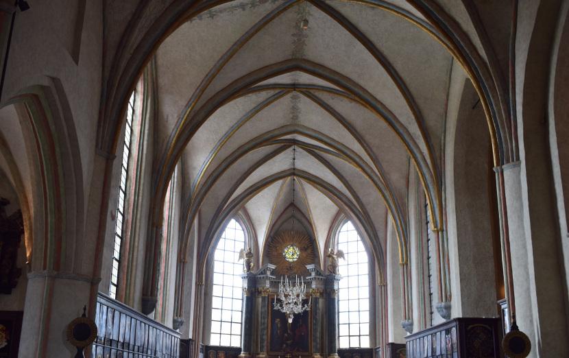 Riddarholmen Church, the chancel