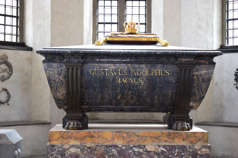Gustav II Adolf sarcophagus