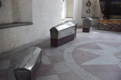 Gustav and Maria's children coffins