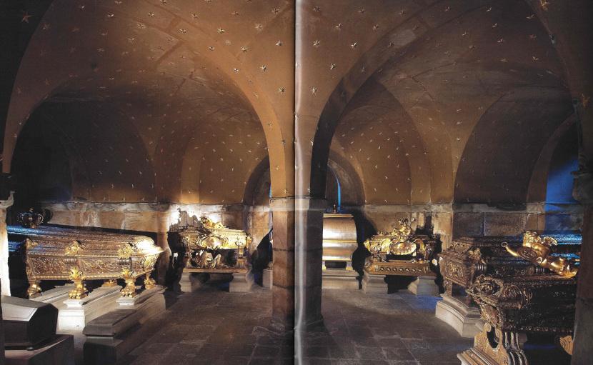 Riddarholmen Church, the crypt