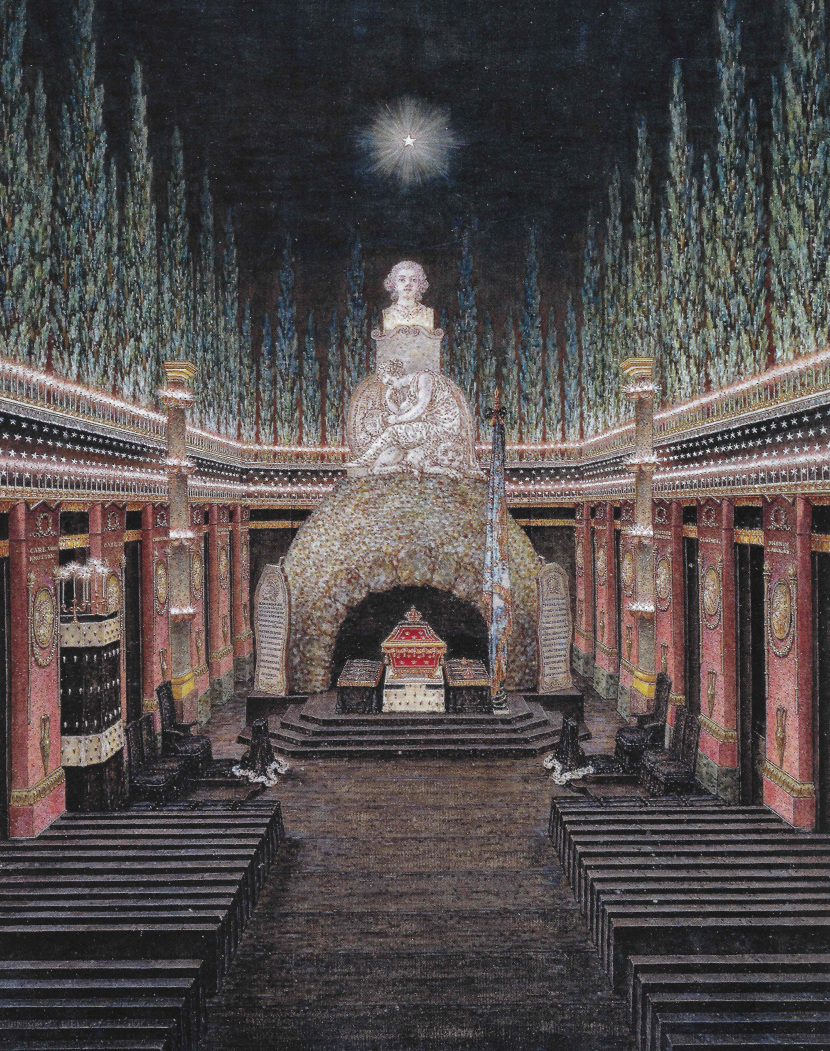 Gustav III's burial ceremony