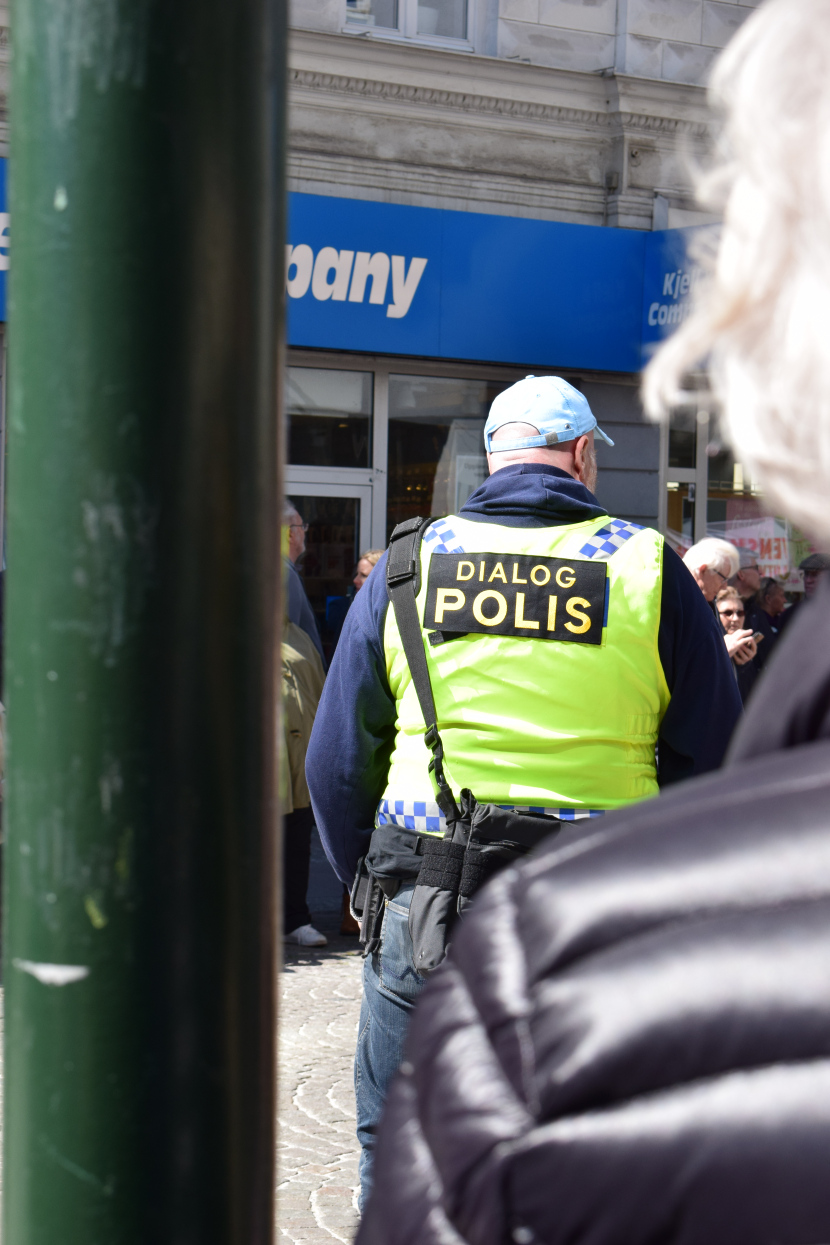 Malmö on the Labour Day: police of the dialogue