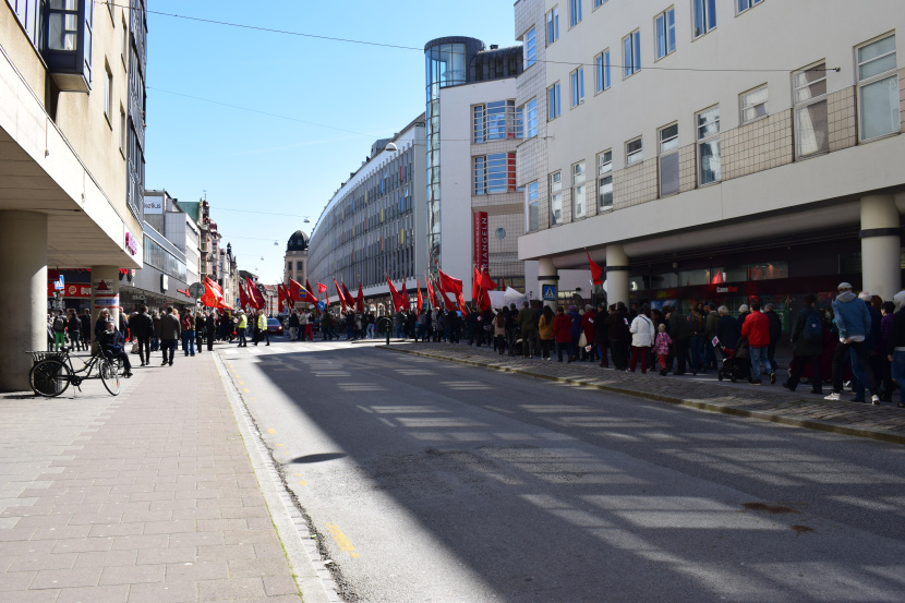 Malmö on the Labour Day: and so many