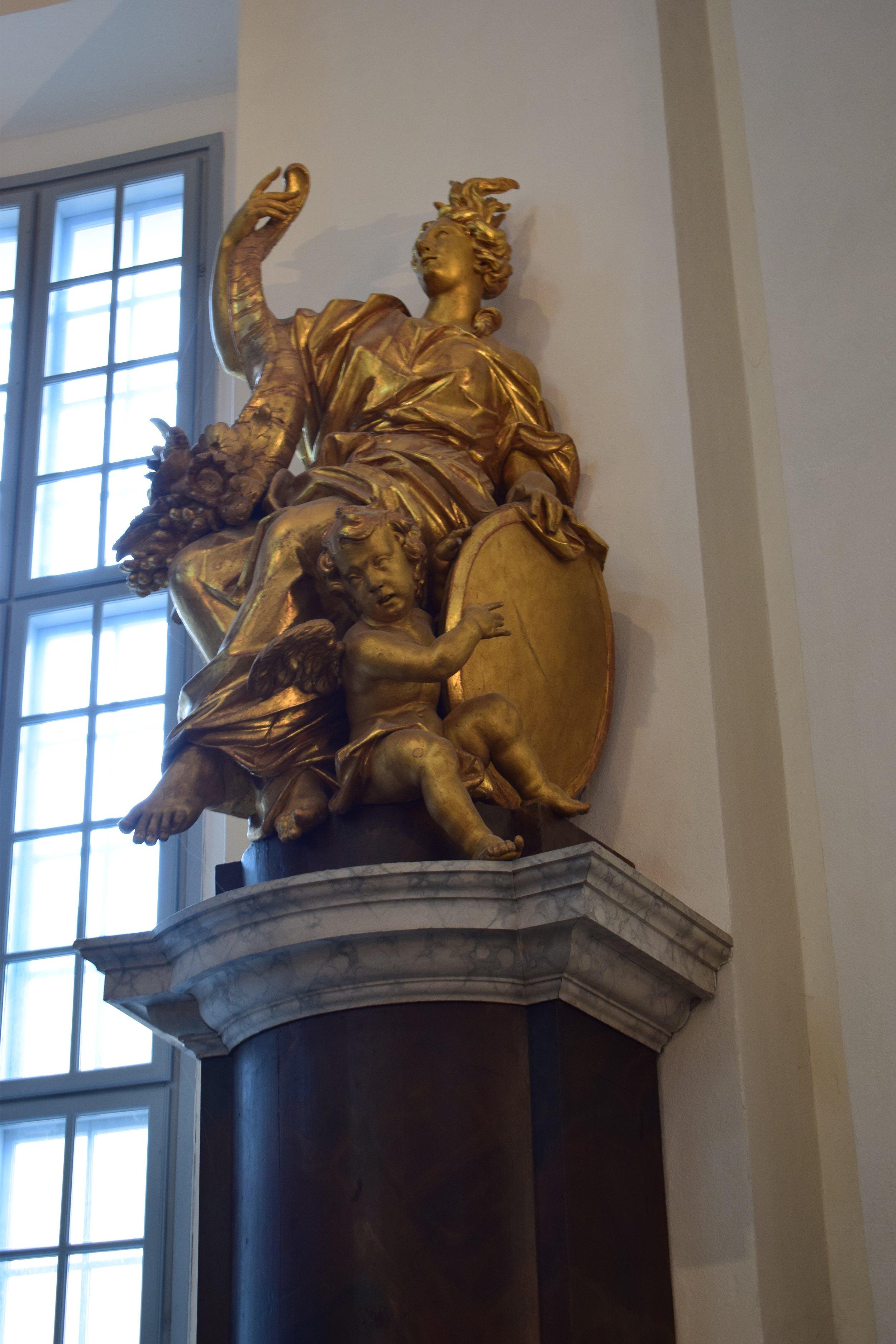 Kalmar Cathedral, the altar