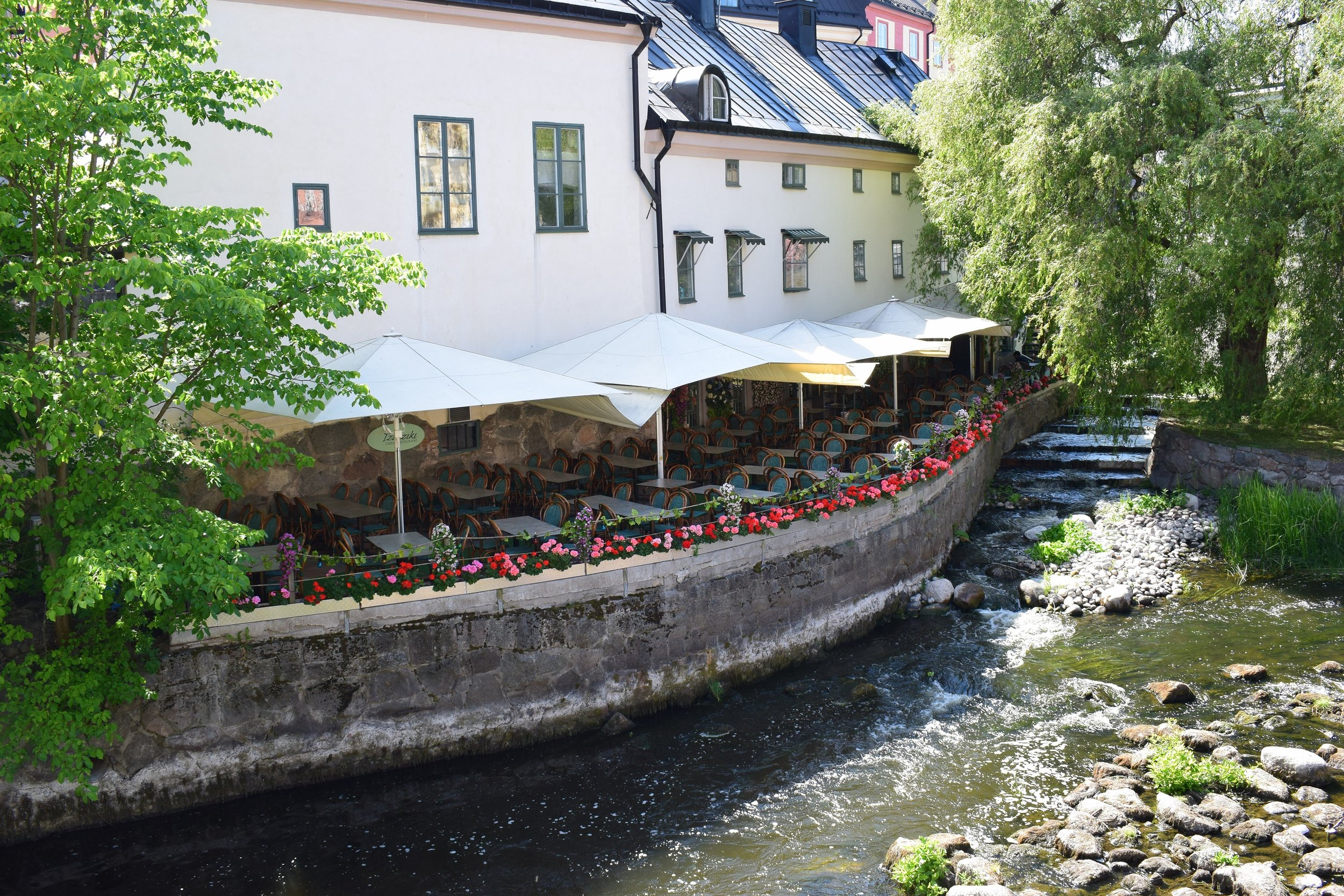 it is always charming by the Fyrisån river