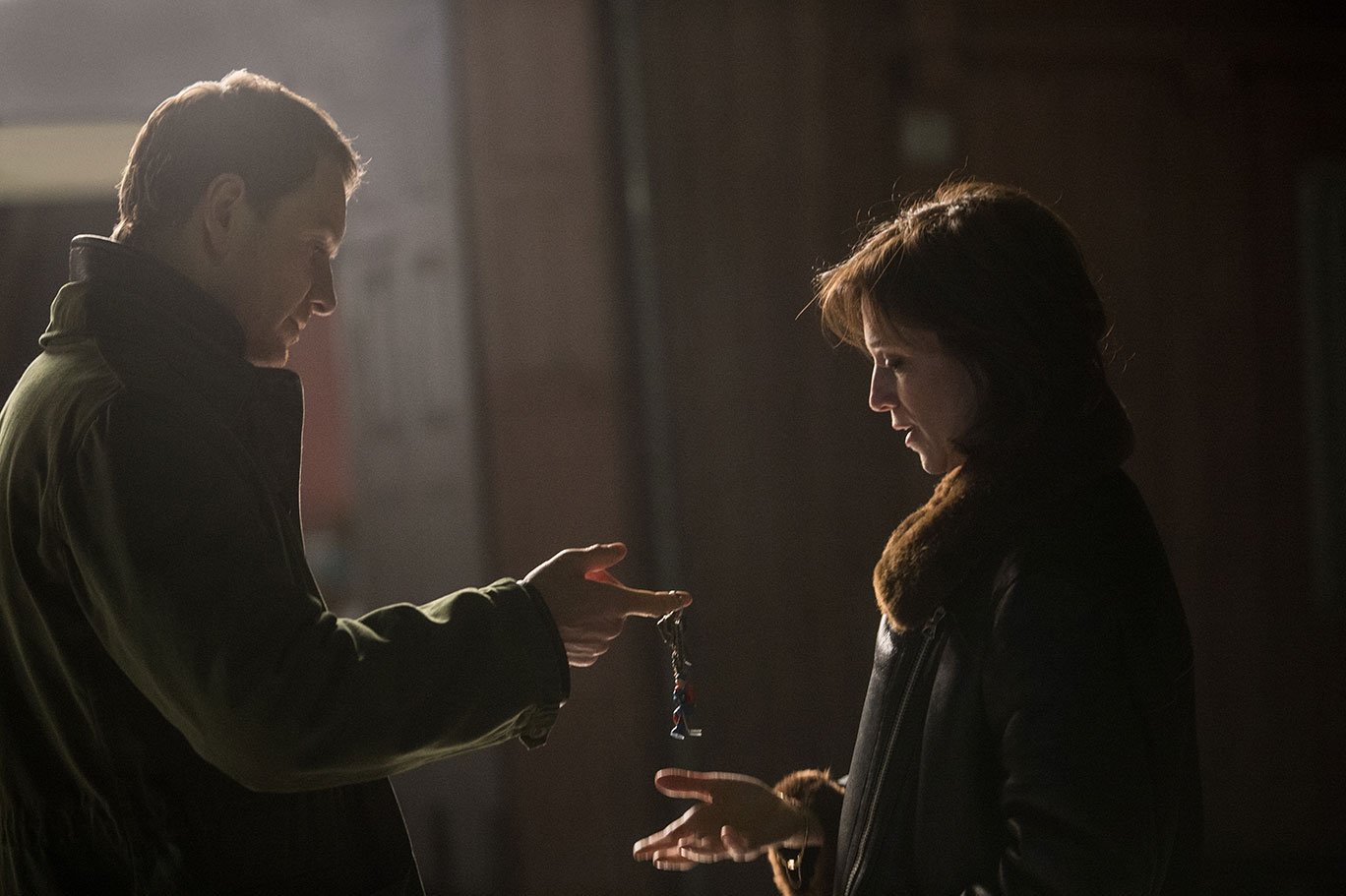 Harry Hole (Michael Fassbender) and Rakel (Charlotte Gainsbourg); source: www.spidersweb.pl