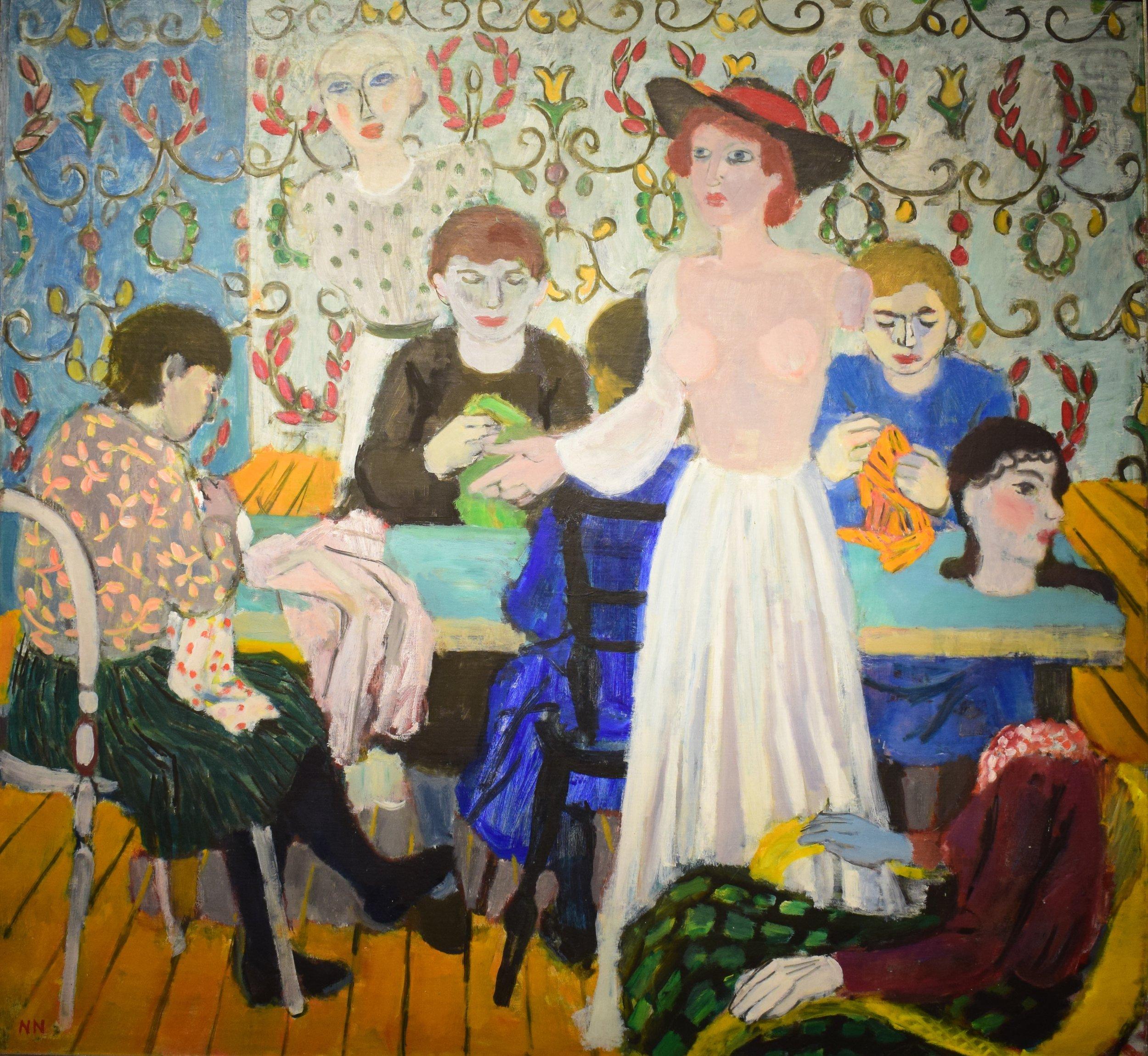 Nils Nilsson, I syateljén (In the Dressmaker's), 1942