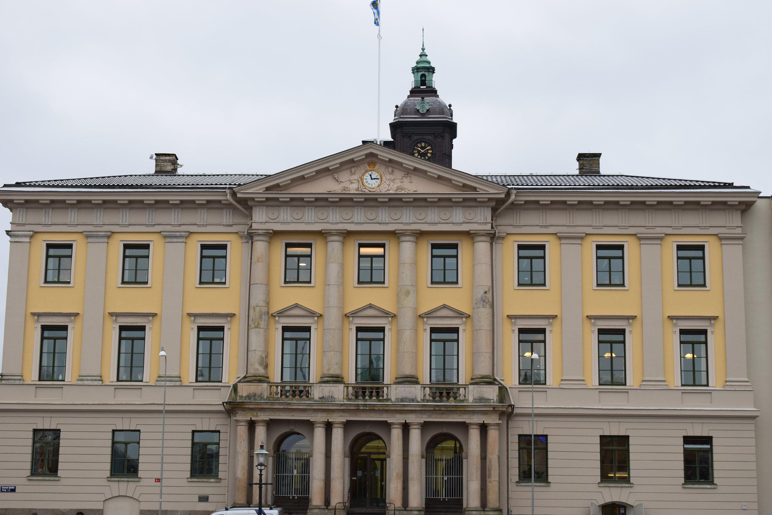 Nicodemus Tessin den äldre, Göteborgs rådhuset (City Hall in Gotheburg), 1672, Göteborg