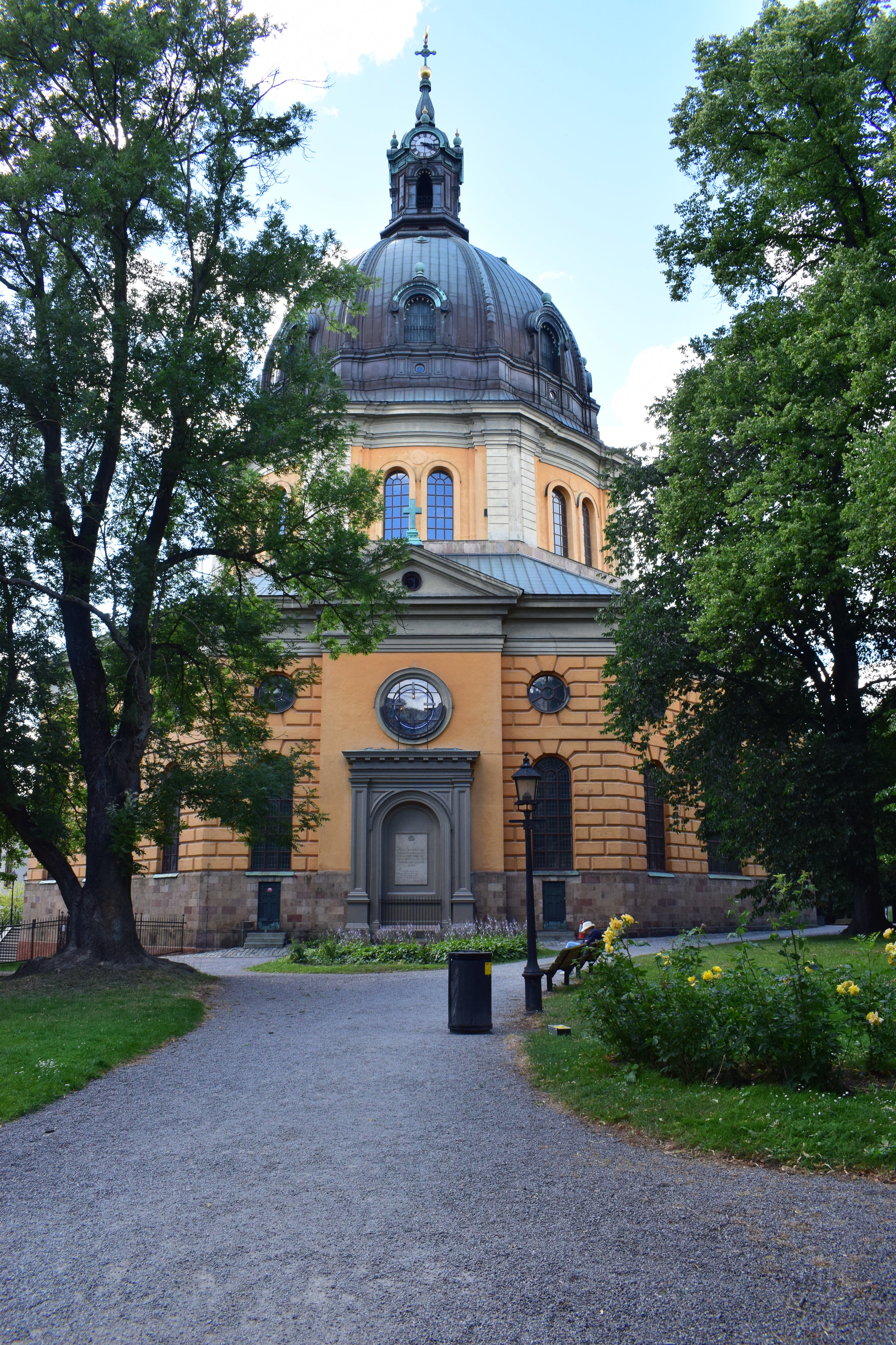 Göran Josuae Adelcrantz, Hedvig Eleonora kyrka (Church of Hedvig Eleonora), 1725-1737, Stockholm