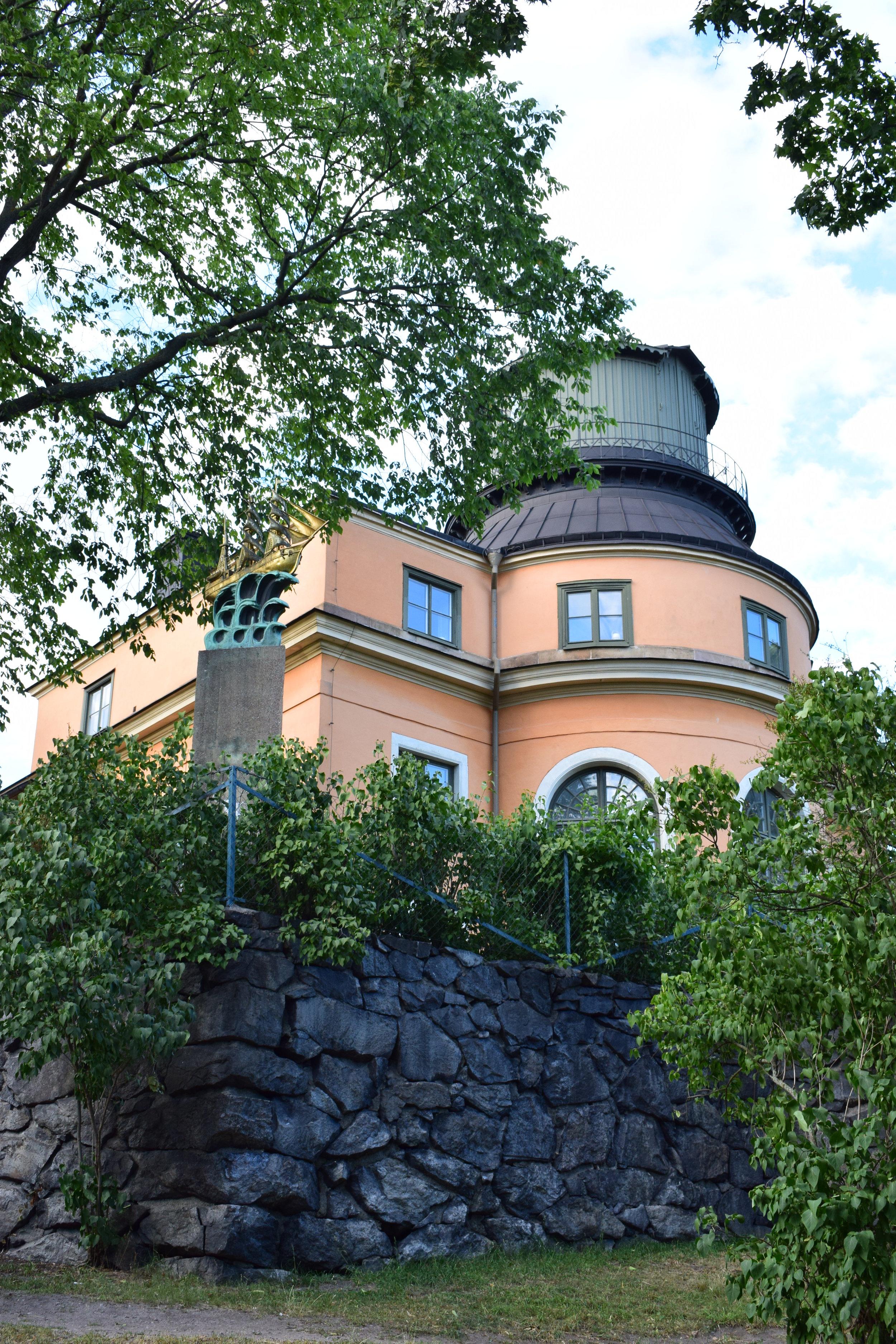 Carl Hårleman, Stockholms observatorium, 1747-1753, Stockholm