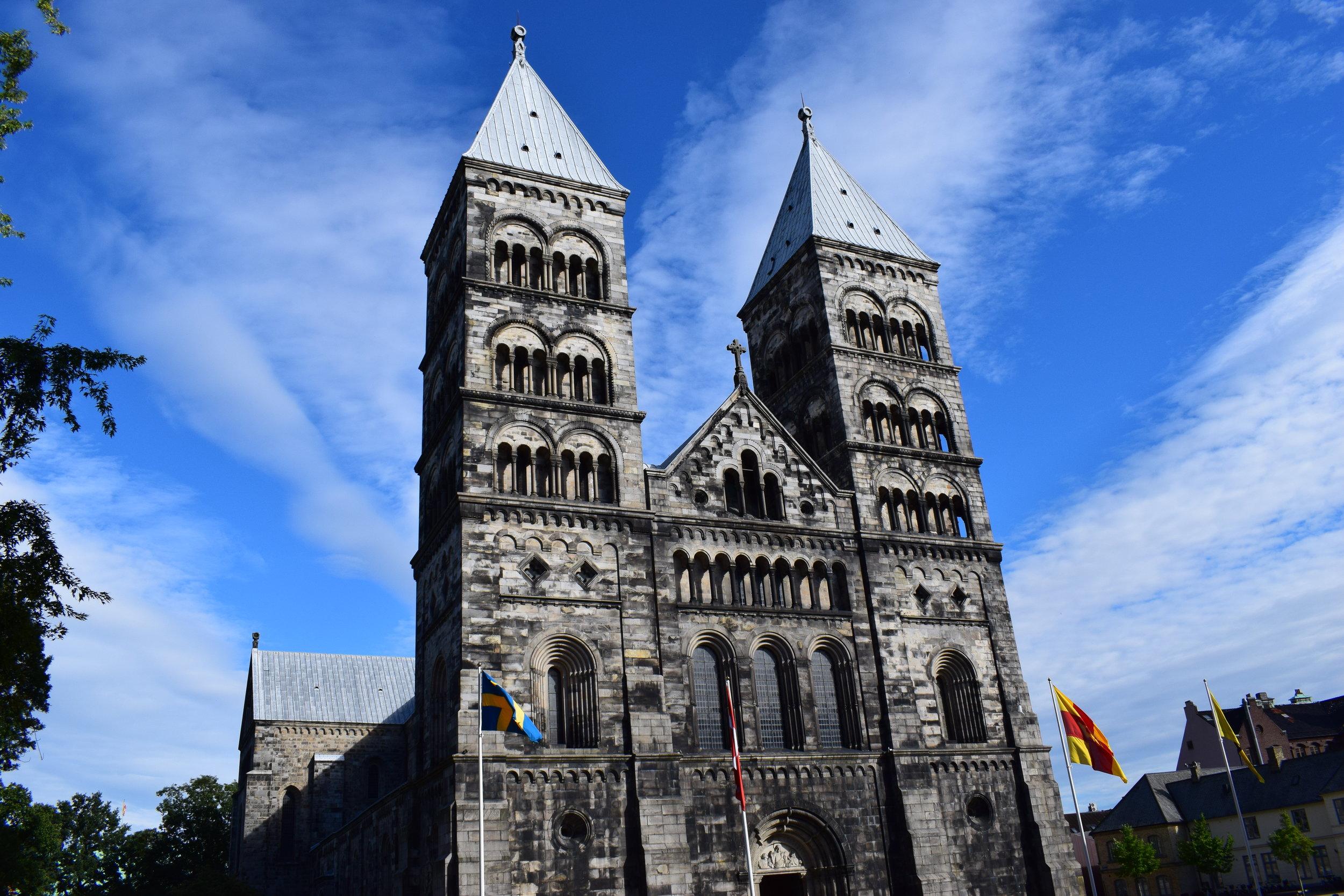lund cathedral, 11th-12th century, Lund