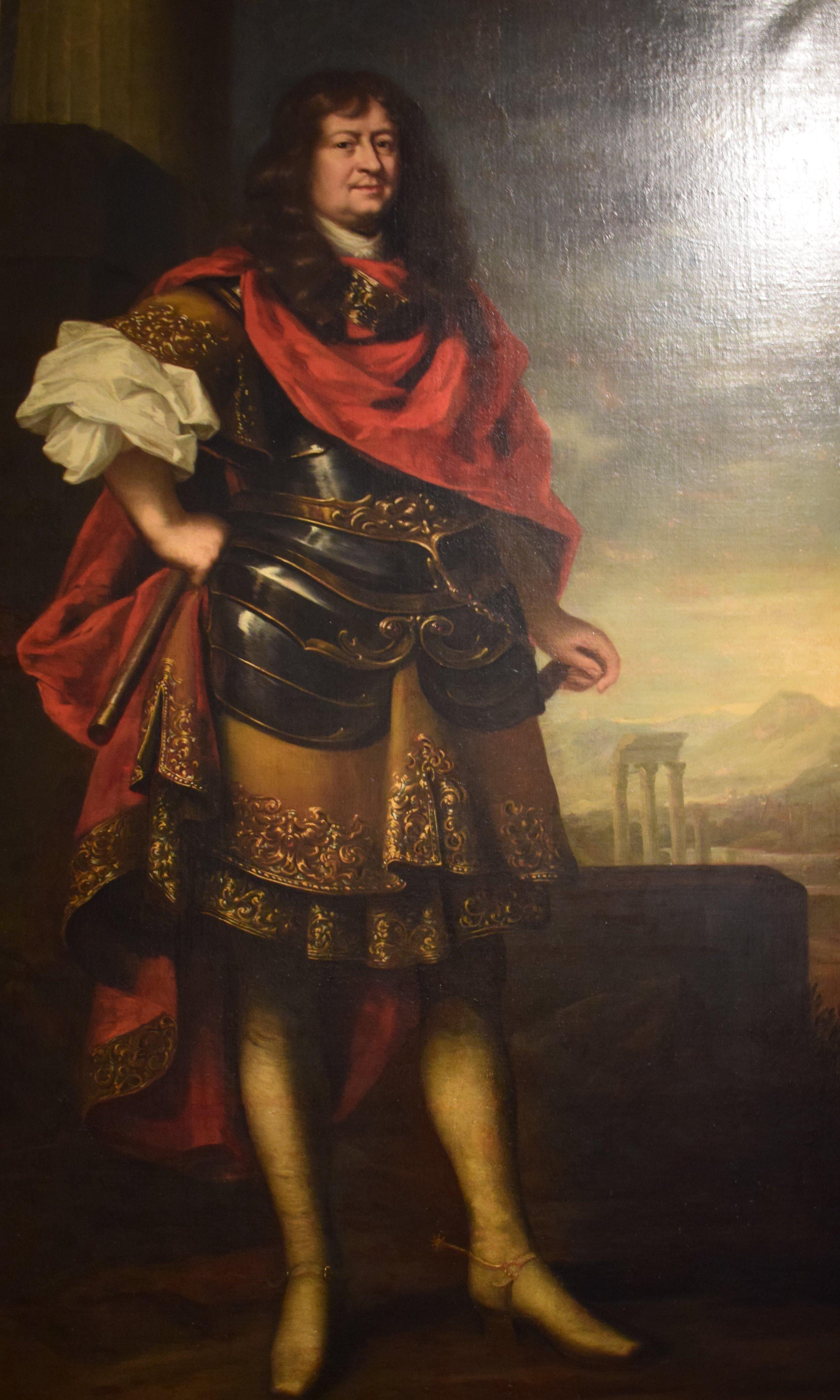 David Klöcker Ehrenstrahl, Friherre Bengt Horn som romerk fältherre (Baron Bengt Horn as Roman General), ok. 1662