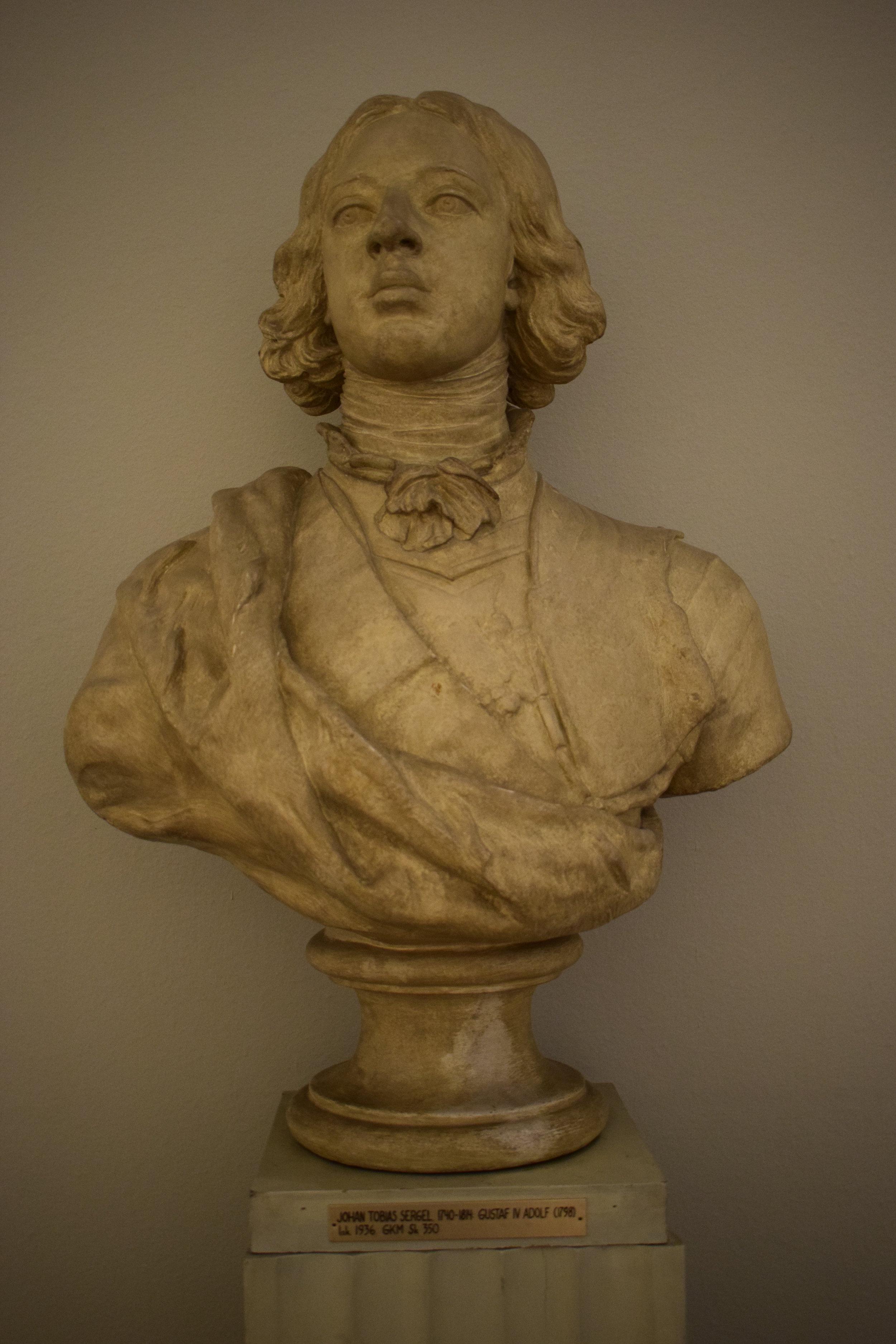 Johan Tobias Sergel, Gustaf IV Adolf, 1798