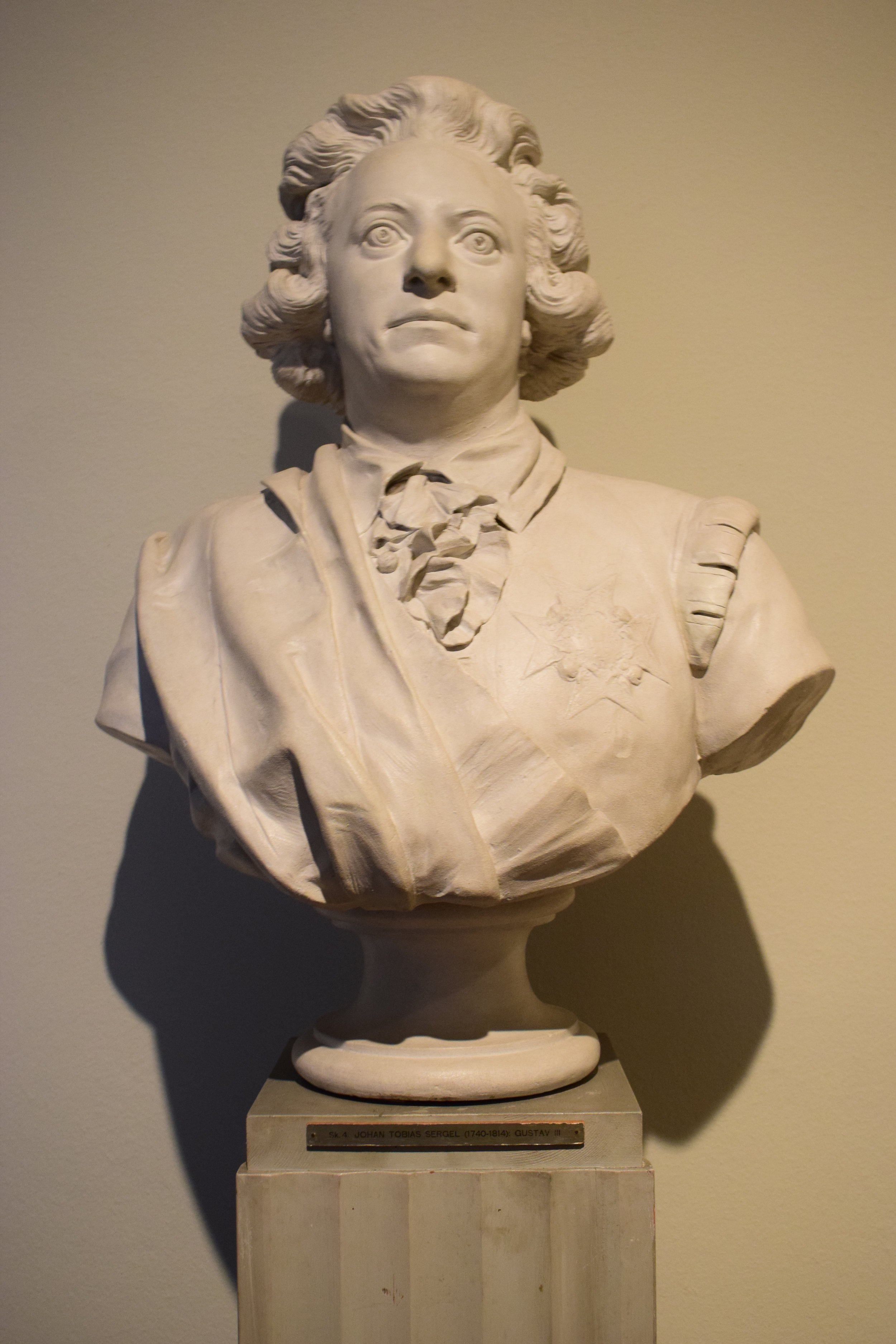 Johan Tobias Sergel, Gustav III