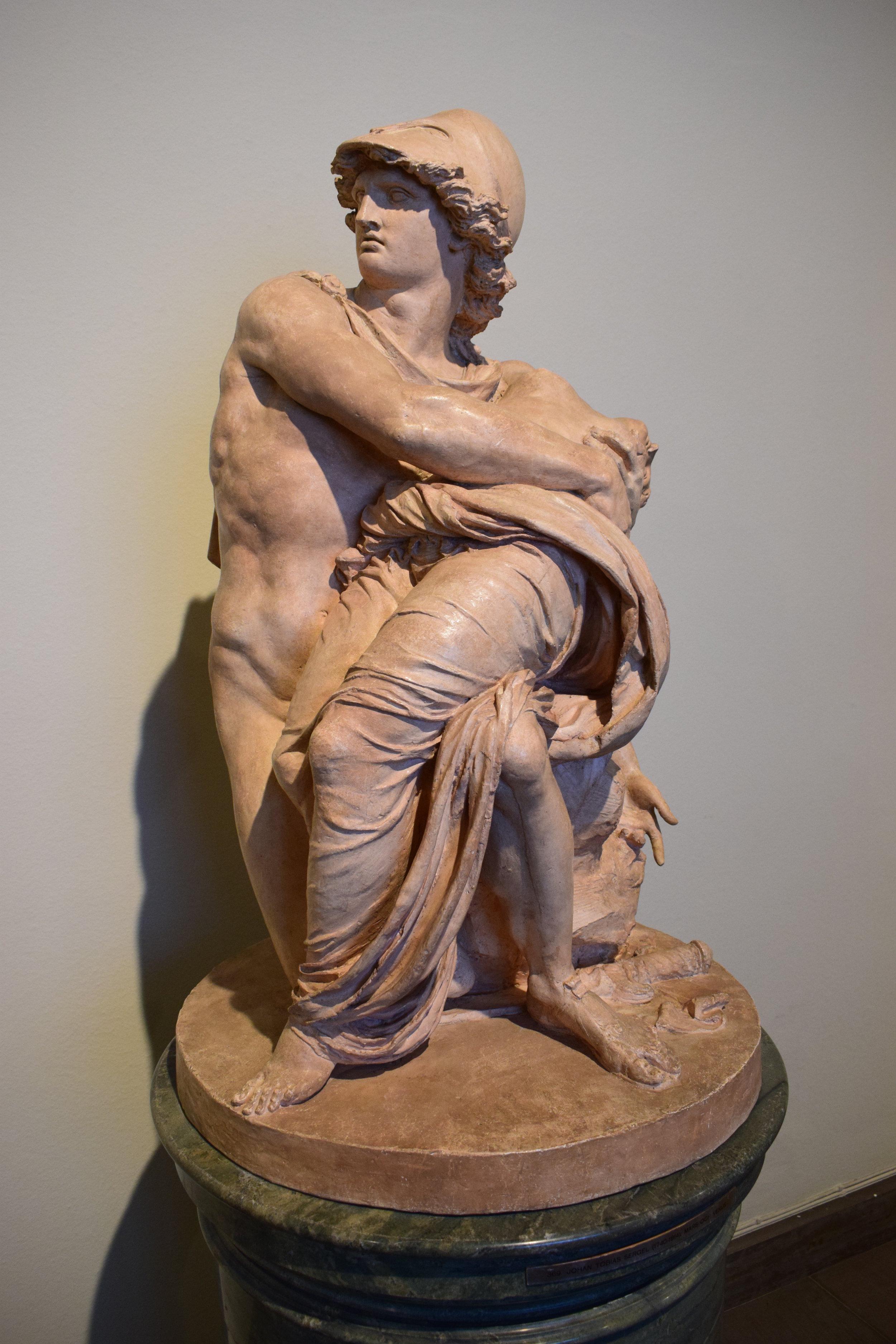Johan Tobias Sergel, Mars och Venus (Mars and Wenus), 1