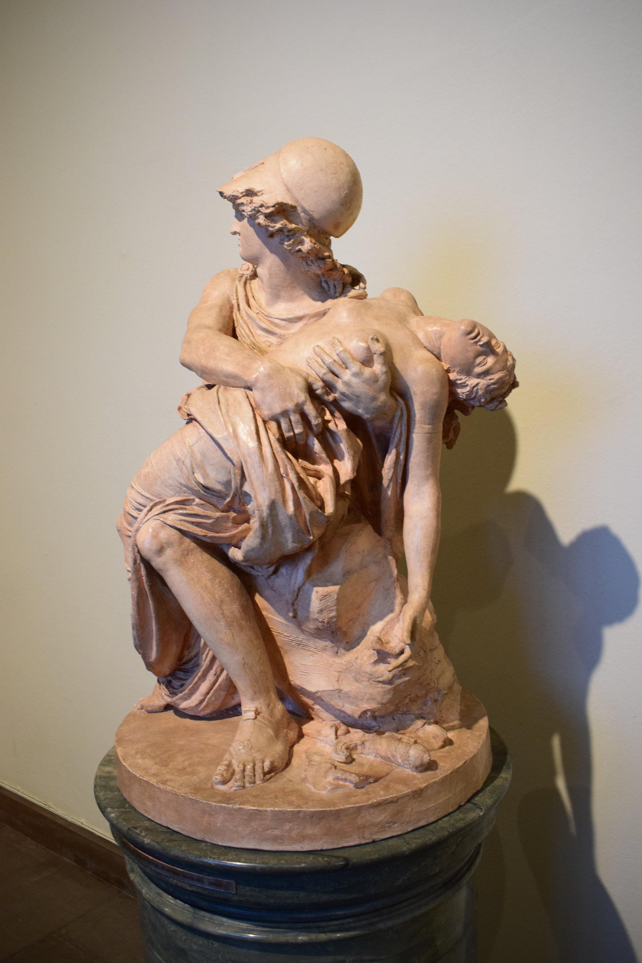 Johan Tobias Sergel, Mars och Venus (Mars and Wenus), 2