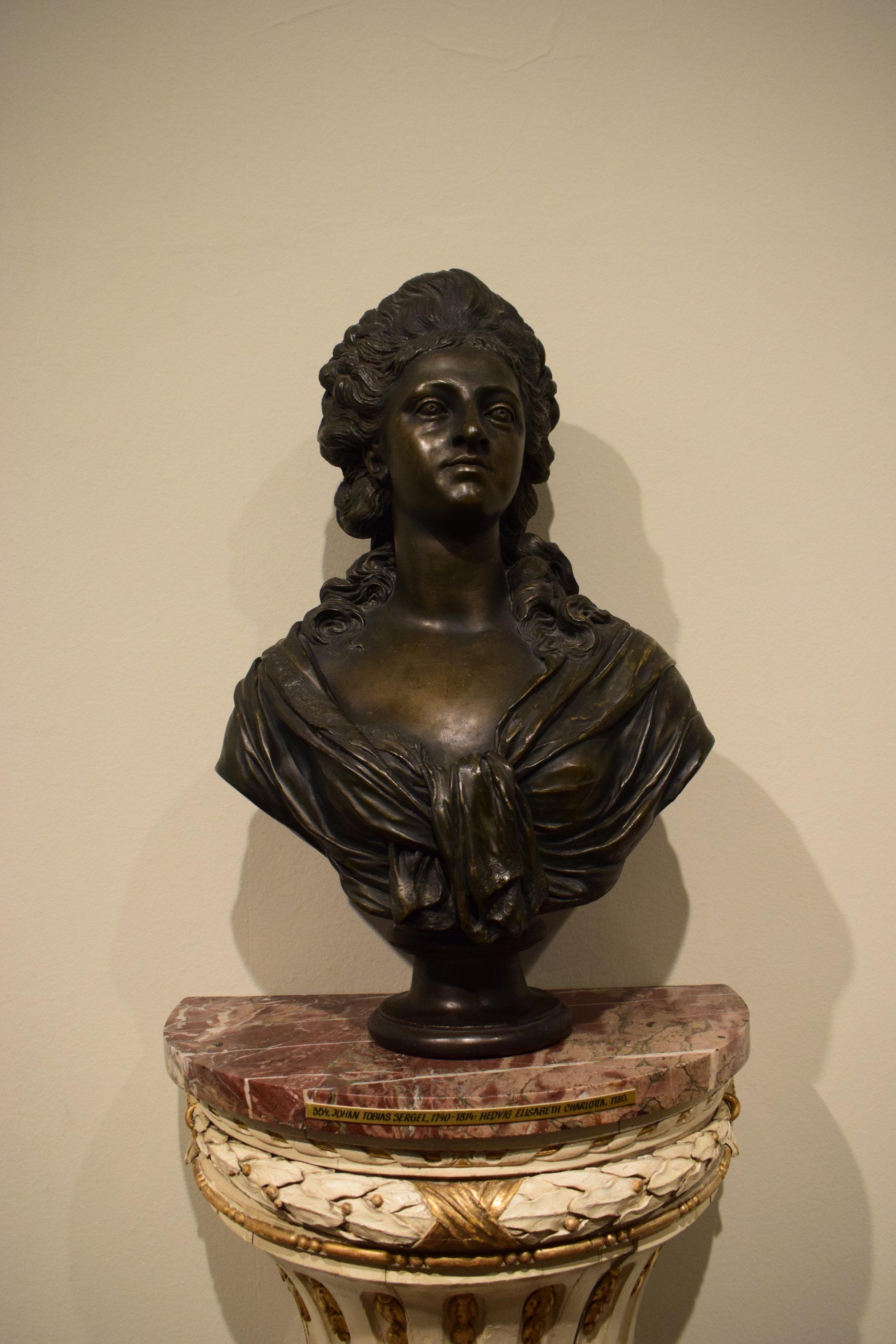 Johan Tobias Sergel, Hedvig Elisabeth Charlotta, 1780