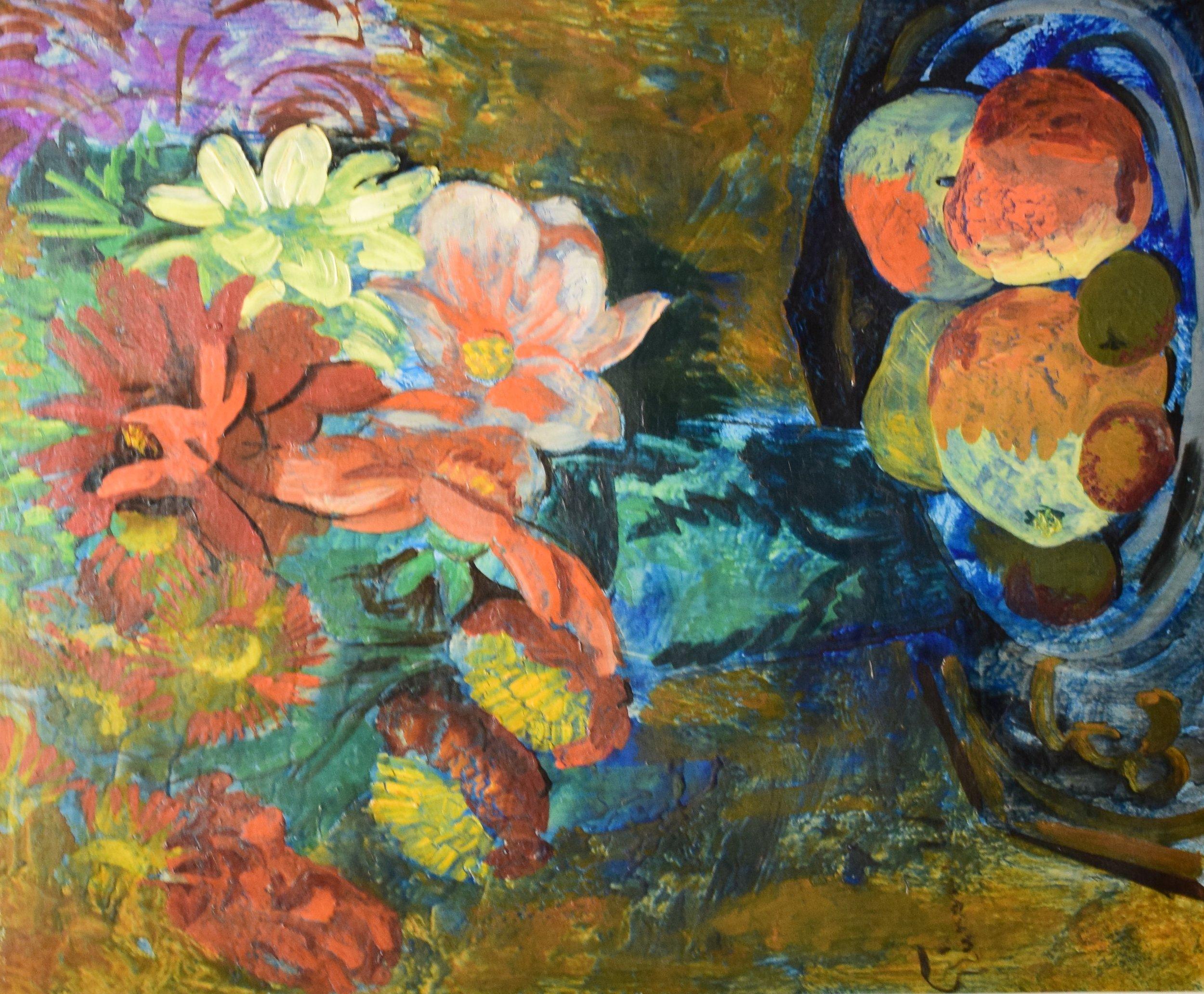 Issac Grünewald, Blommor och frukter (Flowers and Fruit)