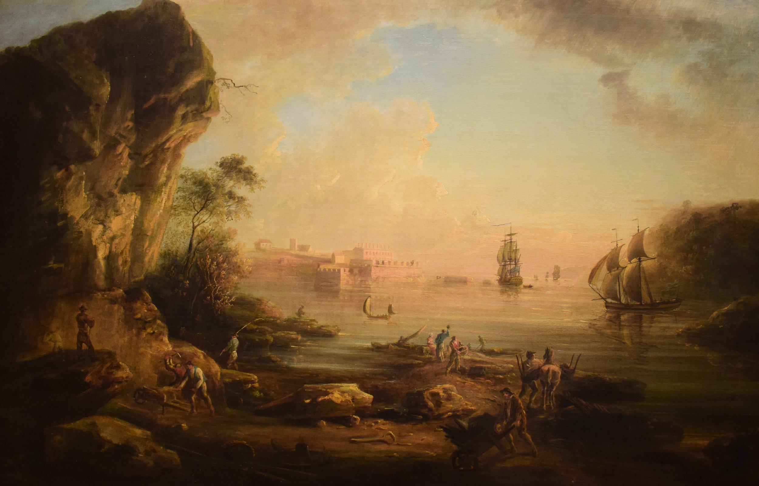 Elias Martin, Kustlandskap (Coast Landscape)