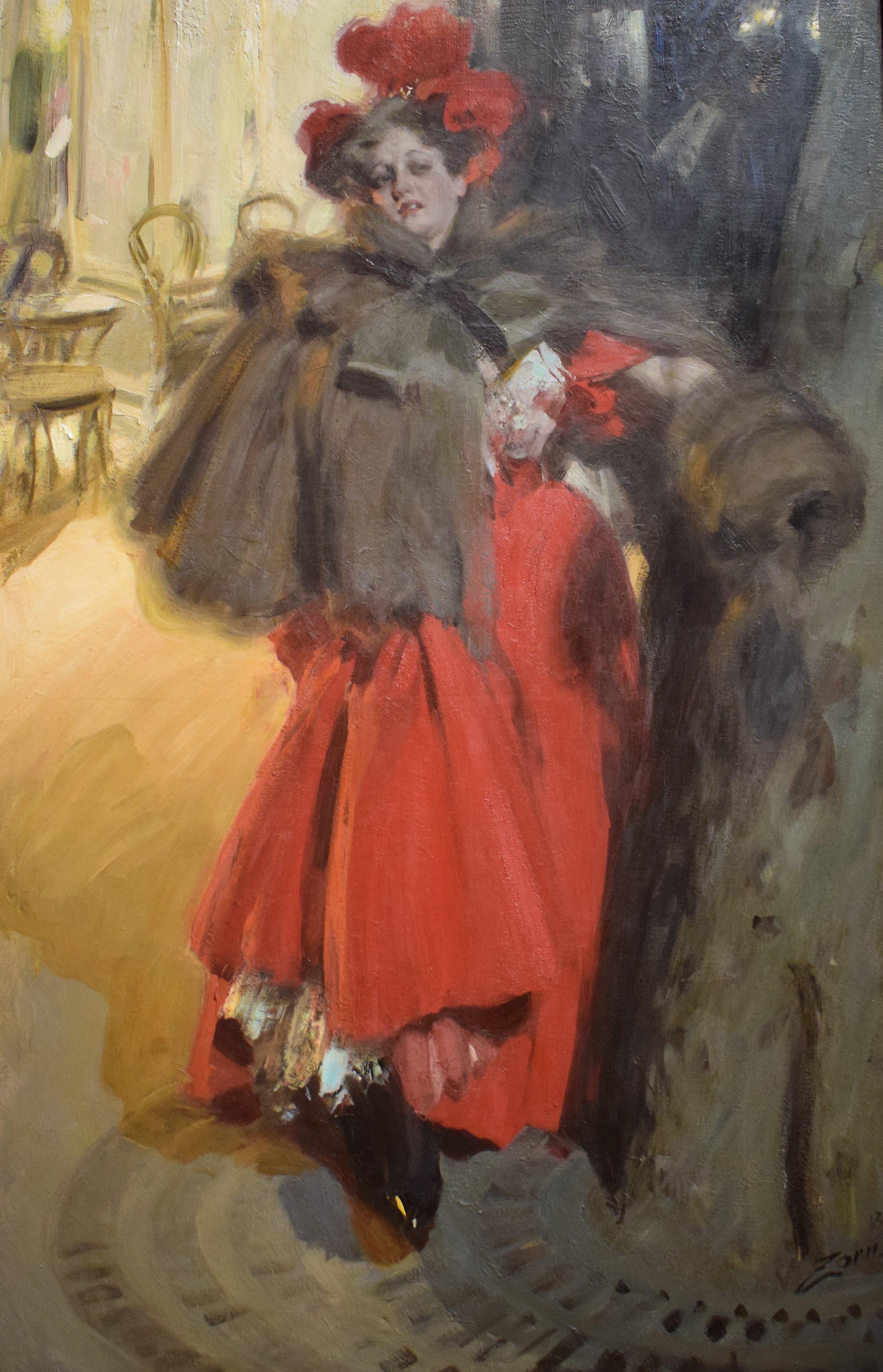 Anders Zorn, Natteffekt, 1895