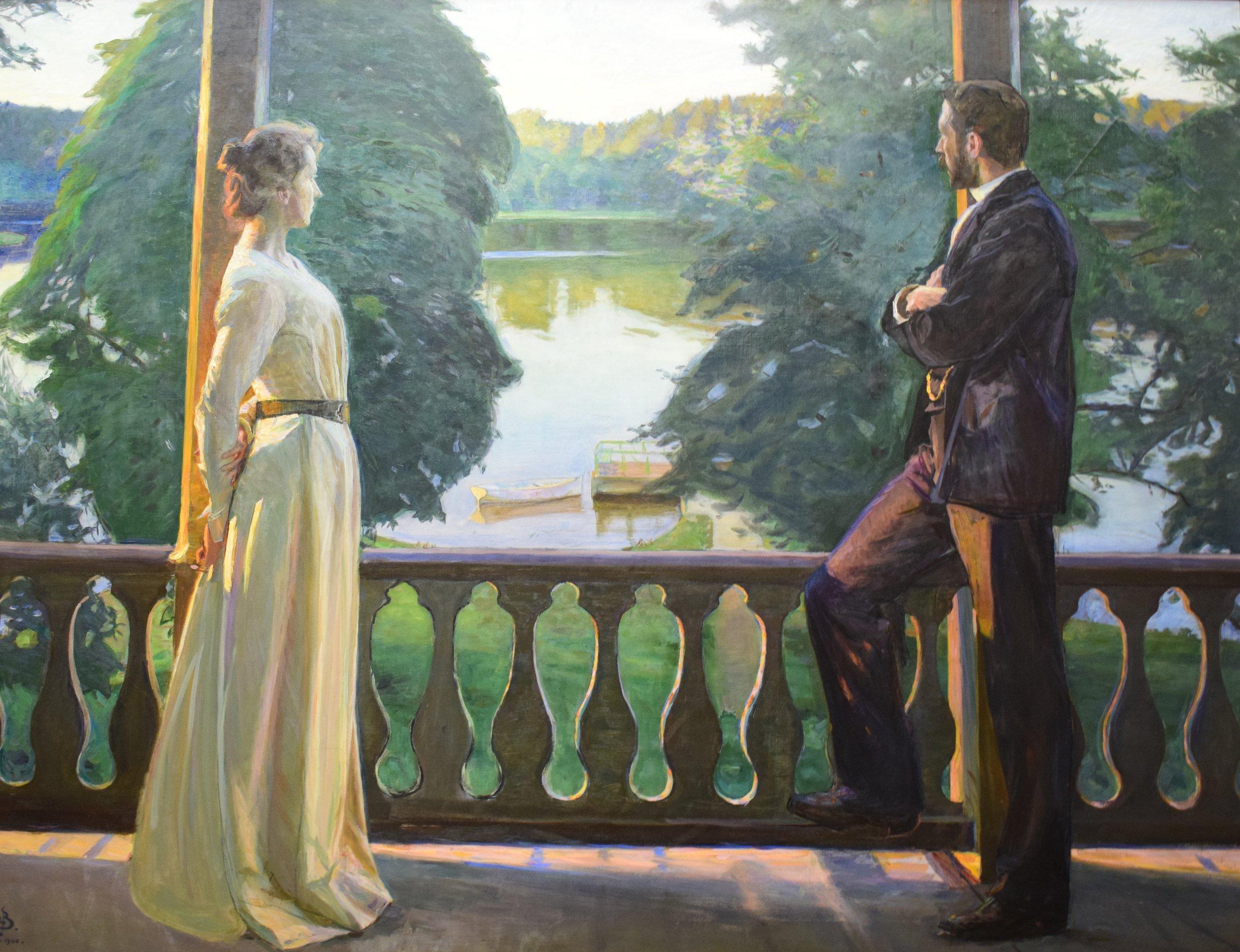 Richard Bergh, Nordisk sommarkväll (Nordic Summer Evening), 1899-1900