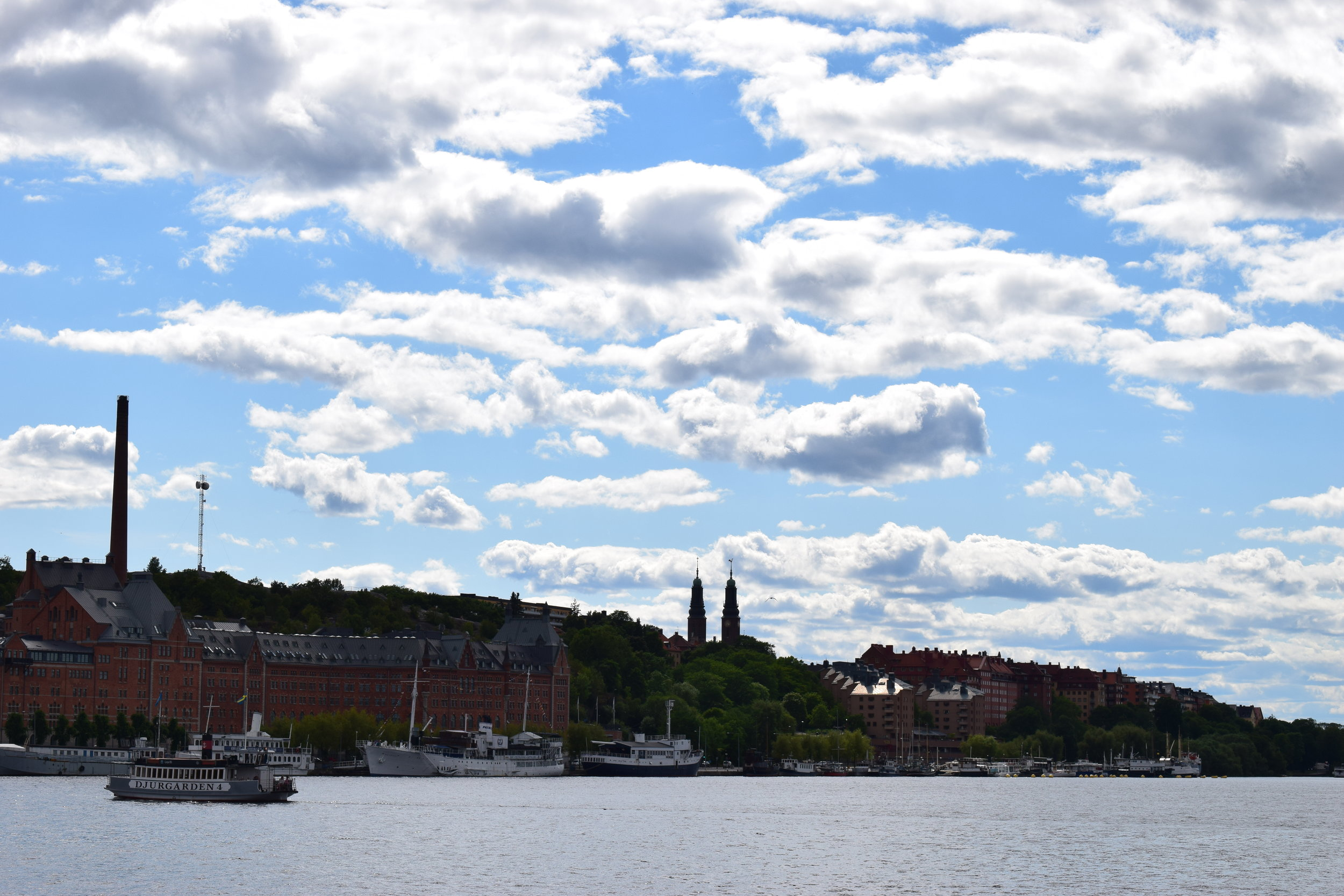 Stockholm City - view of the city, Södermalm