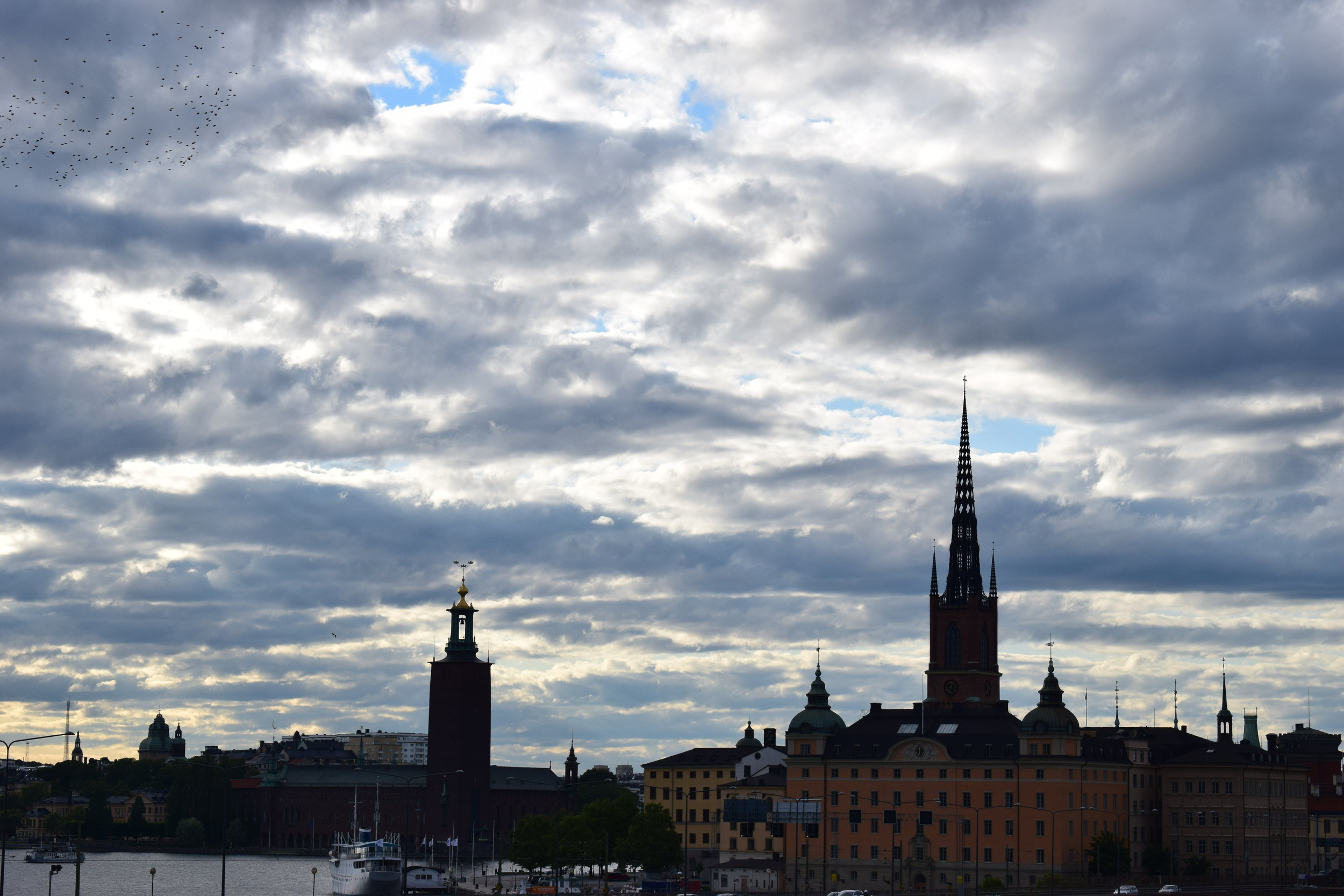 Stockholm - view of the city, Gamla Stan