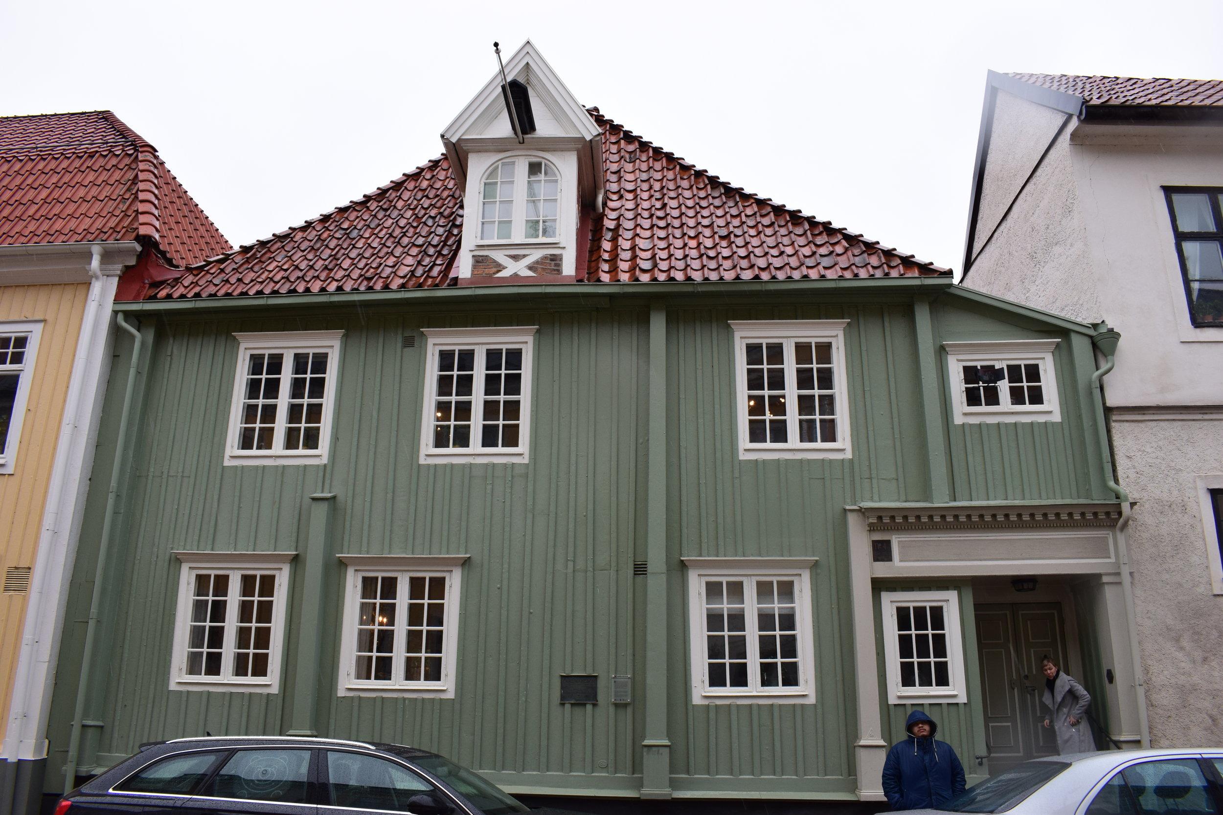 Kalmar, Carl Wahlbom's house
