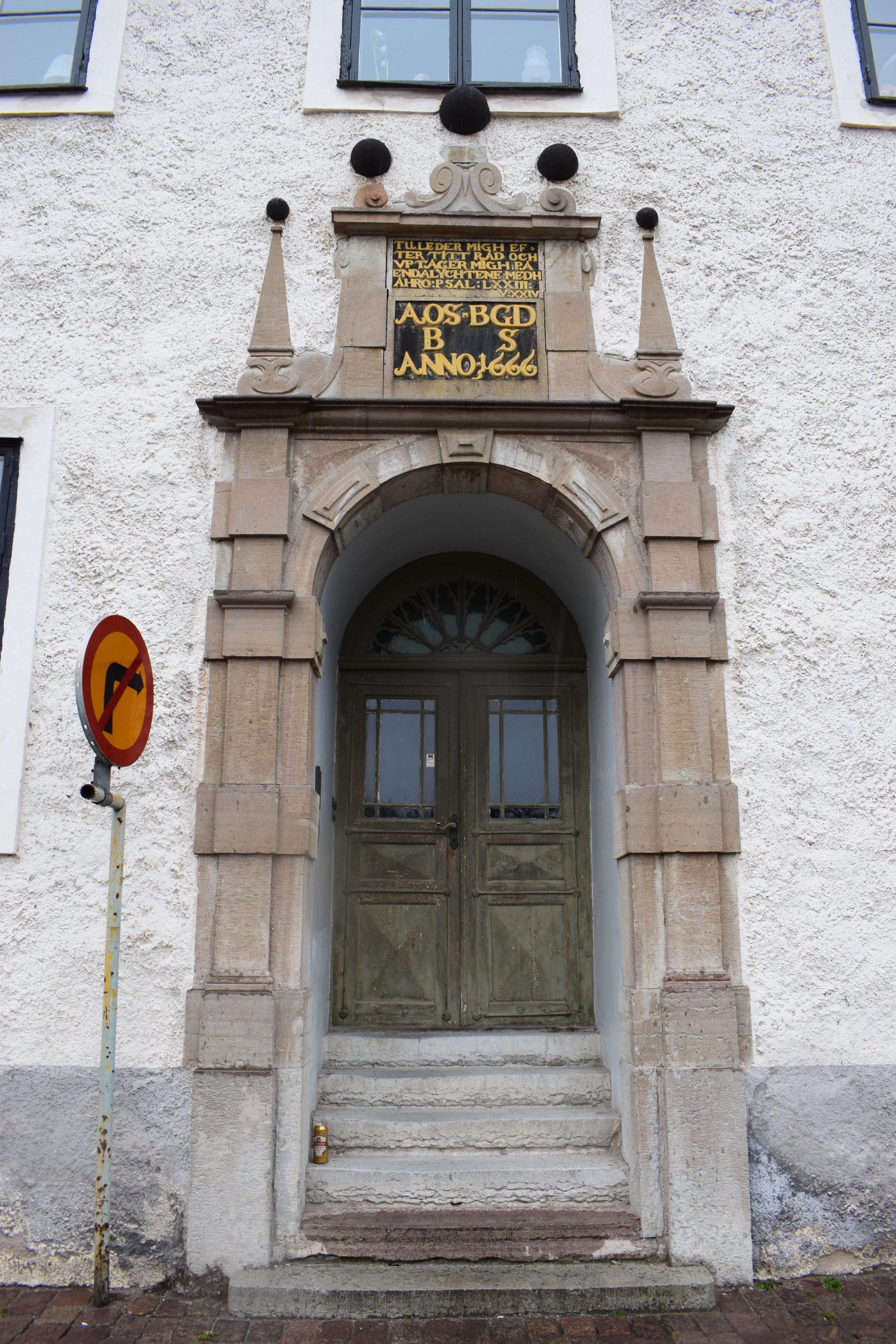 Kalmar, the door