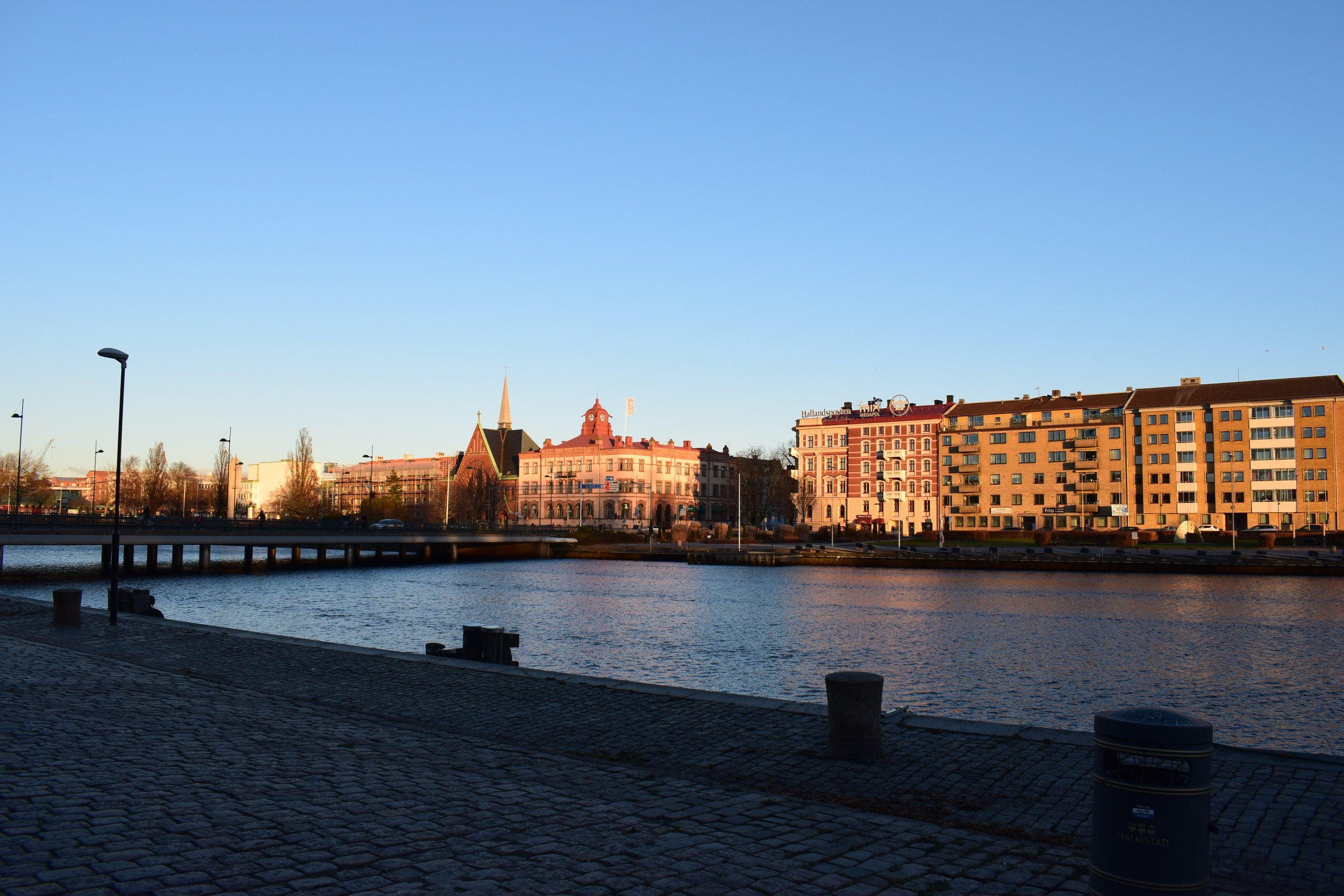 Halmstad - view of the city