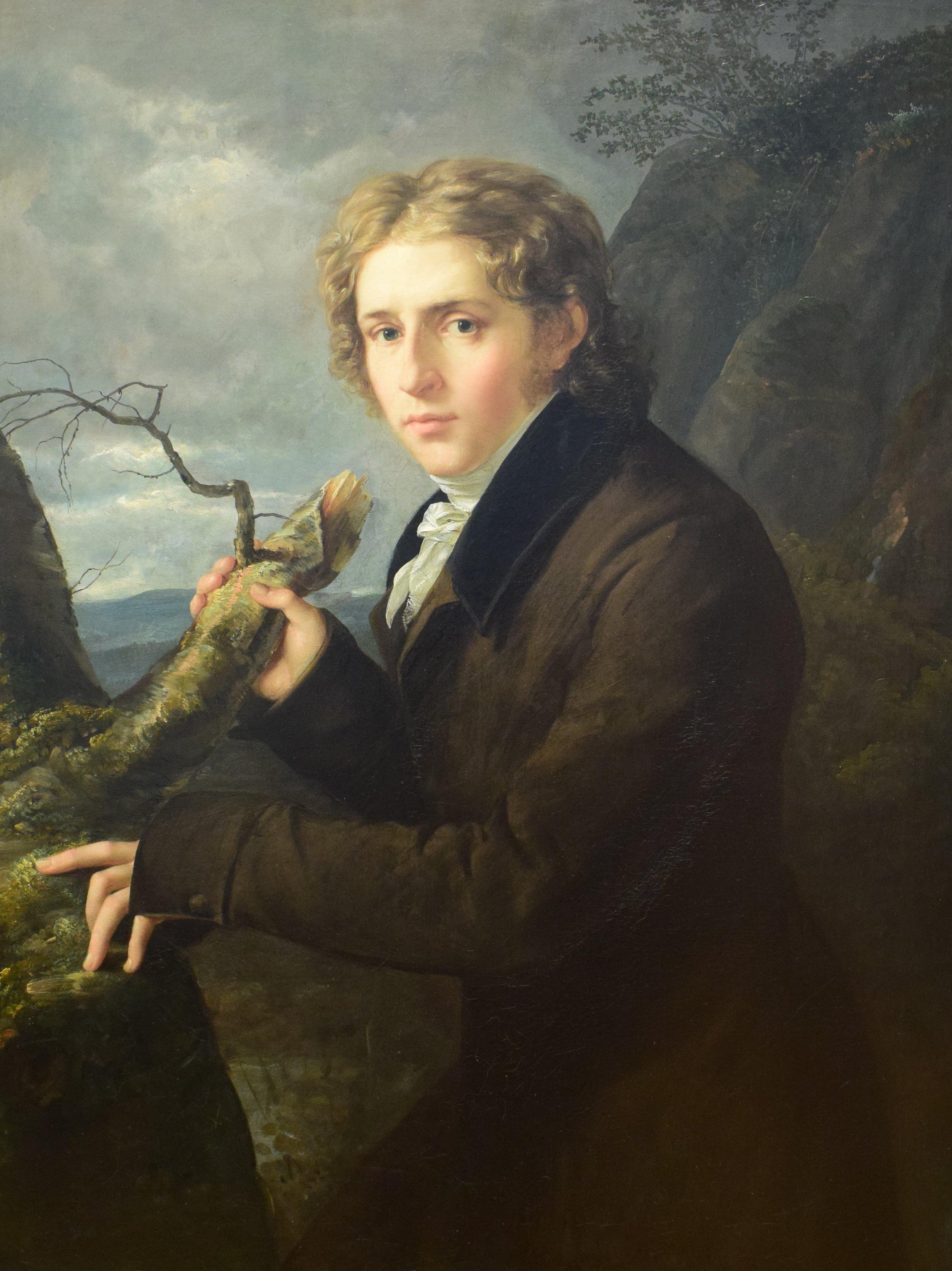 Johan Christian Dahl, Johan Carl Rosler, 1819-1820, Nasjonalmuseet