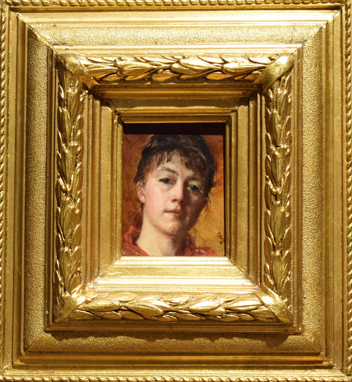 Leis Schjelderup, Self Portrait, ok. 1886, Nasjonalmuseet