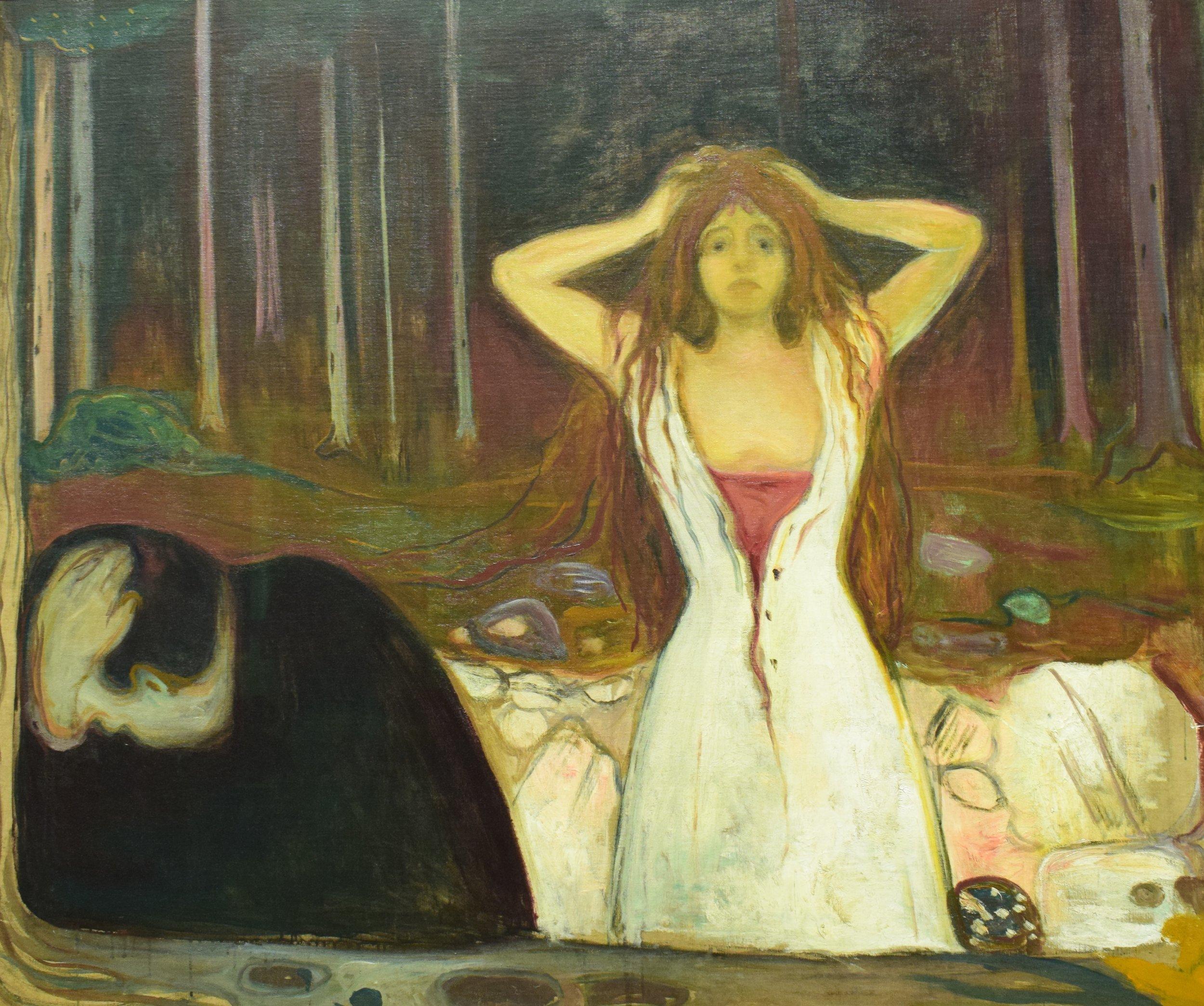 Edvard Munch, Ashes, 1894, Nasjonalmuseet