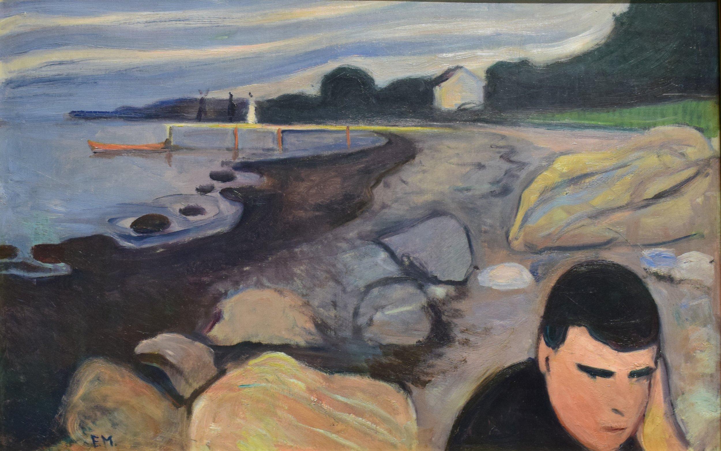 Edvard Munch, Melancholy, 1892, Nasjonalmuseet