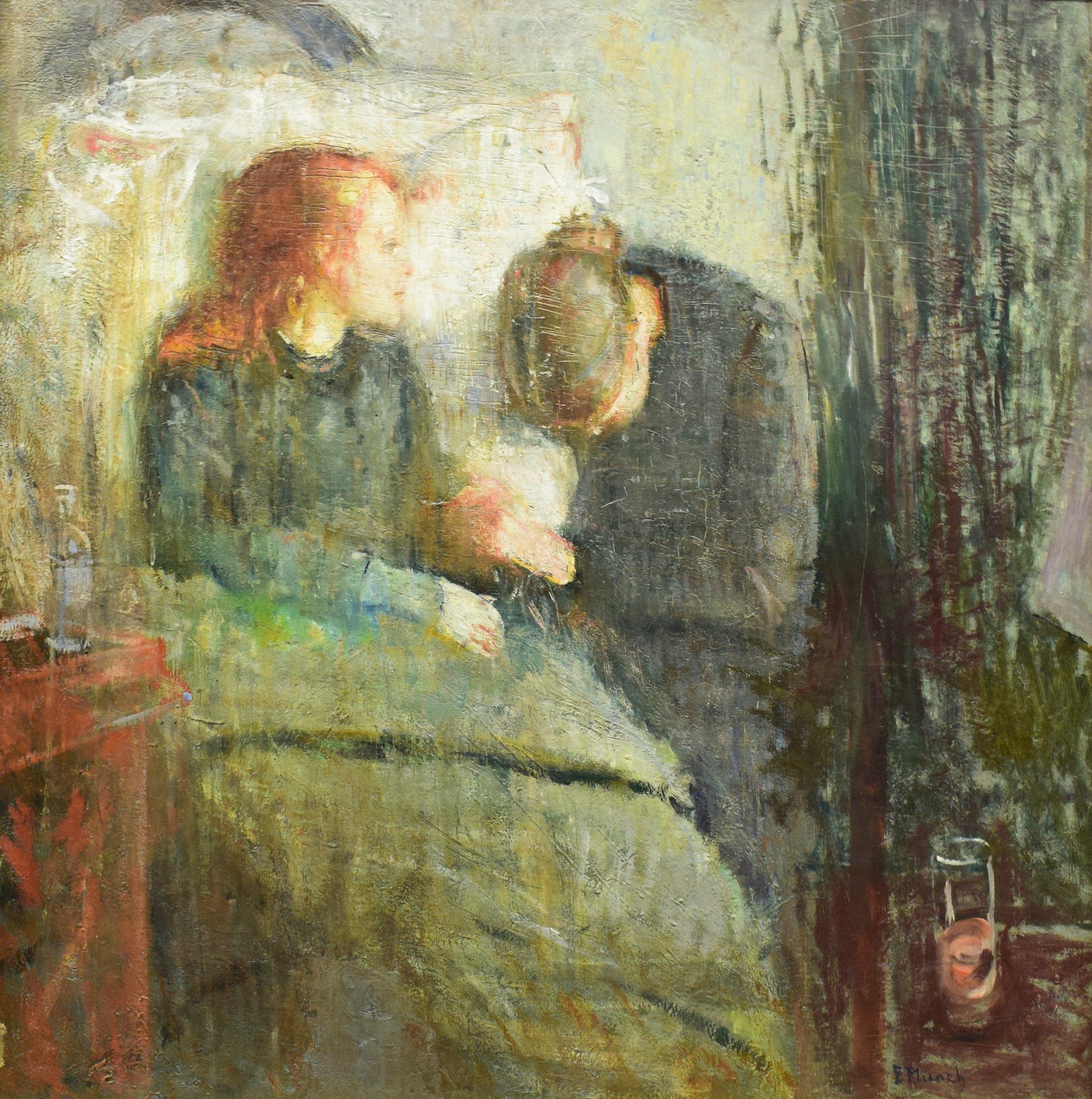 Edvard Munch, The Sick Child, 1885-86, Nasjonalmuseet