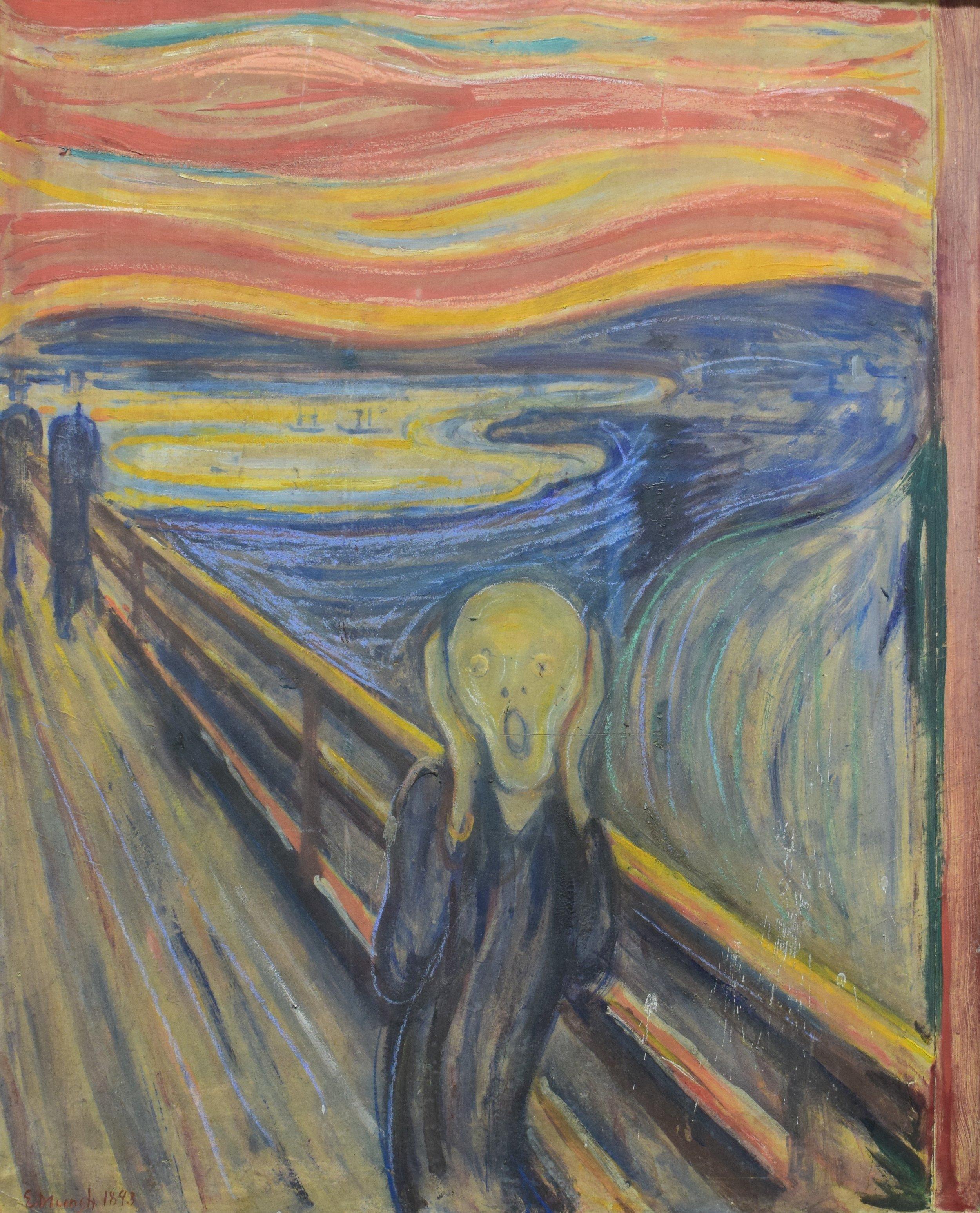 Edvard Munch, Scream, 1893, Nasjonalmuseet